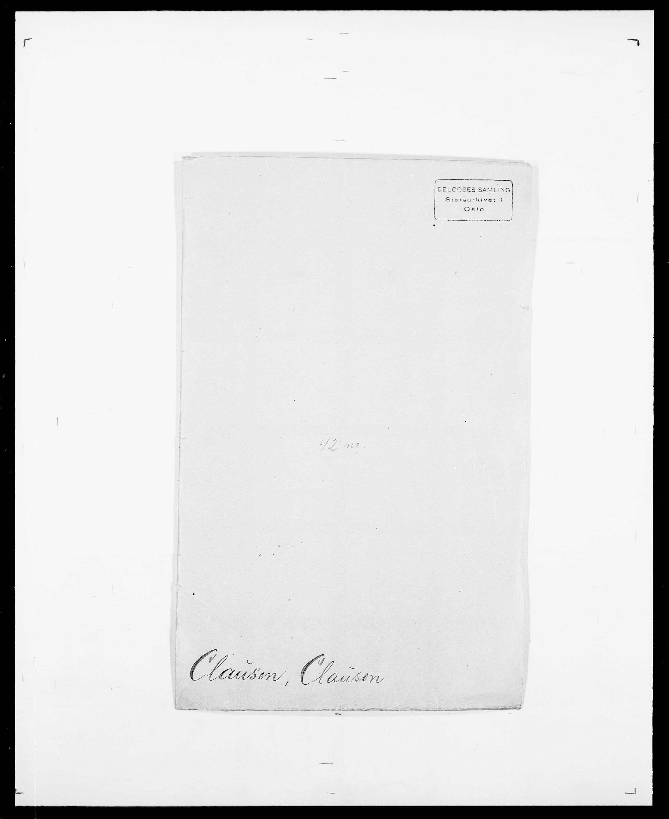 SAO, Delgobe, Charles Antoine - samling, D/Da/L0008: Capjon - Dagenbolt, s. 315