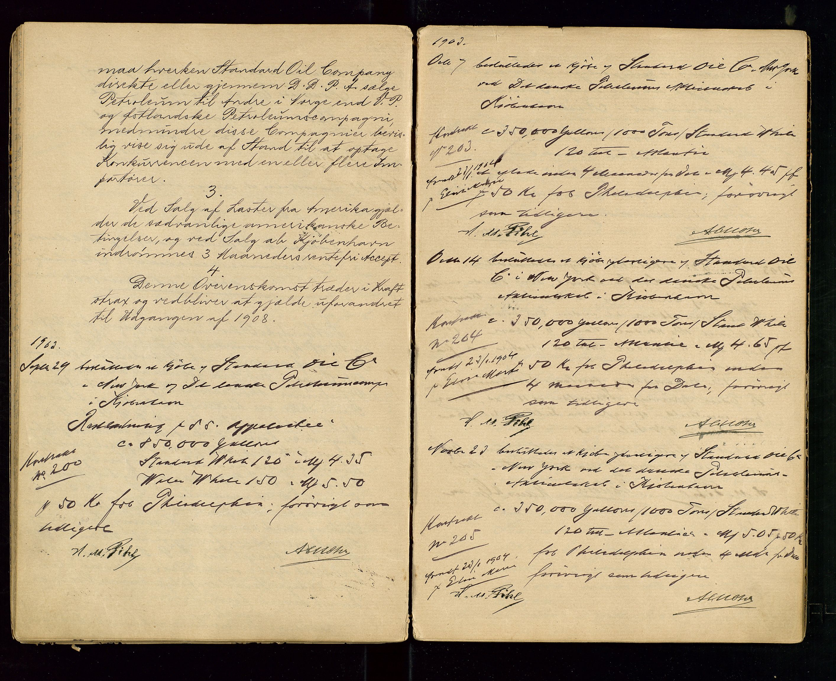 SAST, PA 1533 - A/S Vestlandske Petroleumscompani, A/Aa/L0001: Generalforsamlinger og styreprotokoller, 1890-1907, s. 48