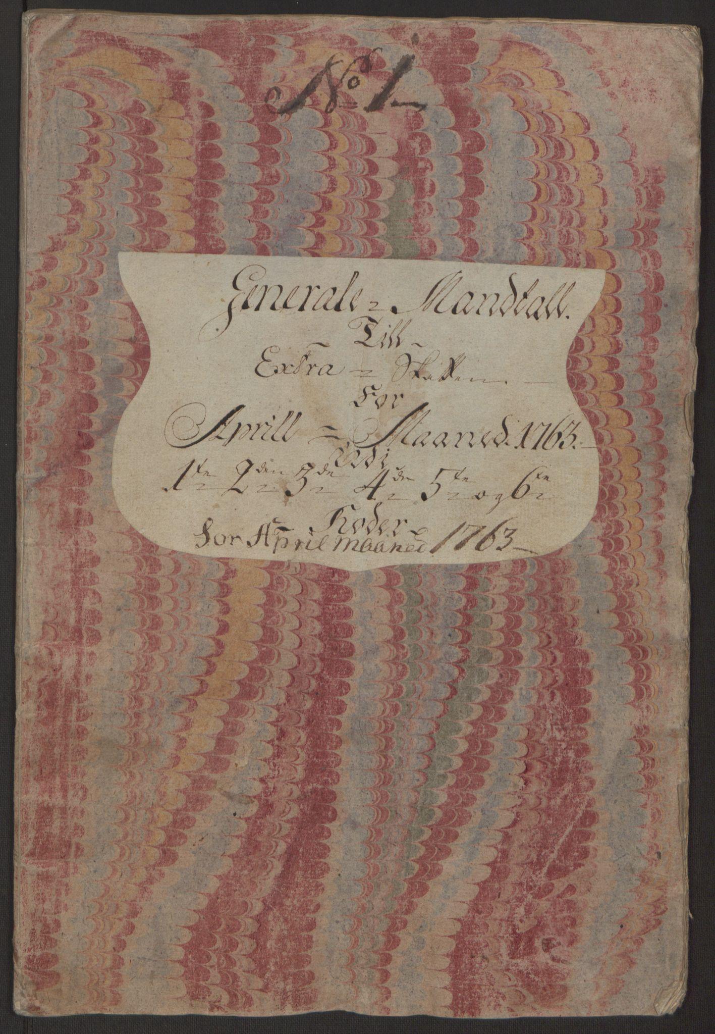 RA, Rentekammeret inntil 1814, Reviderte regnskaper, Byregnskaper, R/Rp/L0366: [P20] Kontribusjonsregnskap, 1763, s. 42