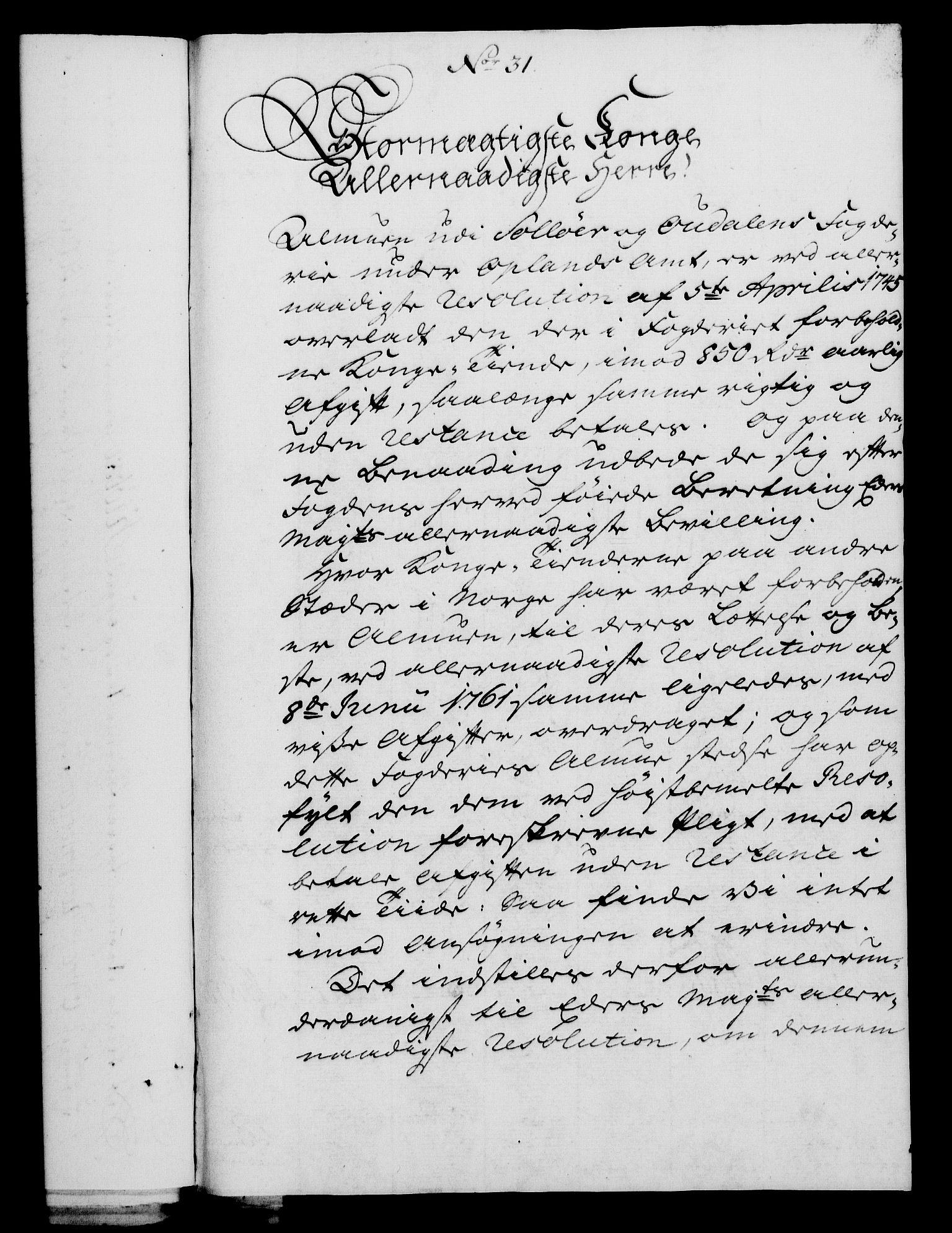 RA, Rentekammeret, Kammerkanselliet, G/Gf/Gfa/L0049: Norsk relasjons- og resolusjonsprotokoll (merket RK 52.49), 1767, s. 138