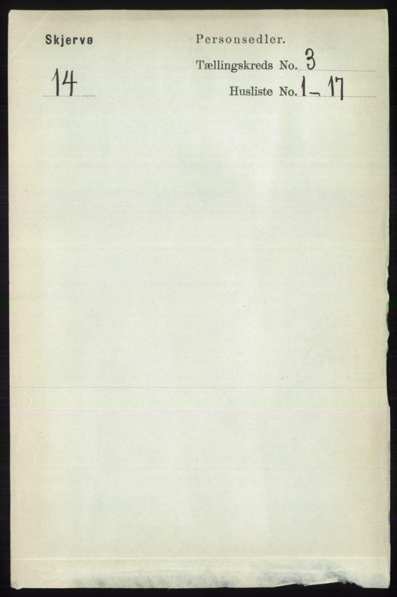 RA, Folketelling 1891 for 1941 Skjervøy herred, 1891, s. 1846