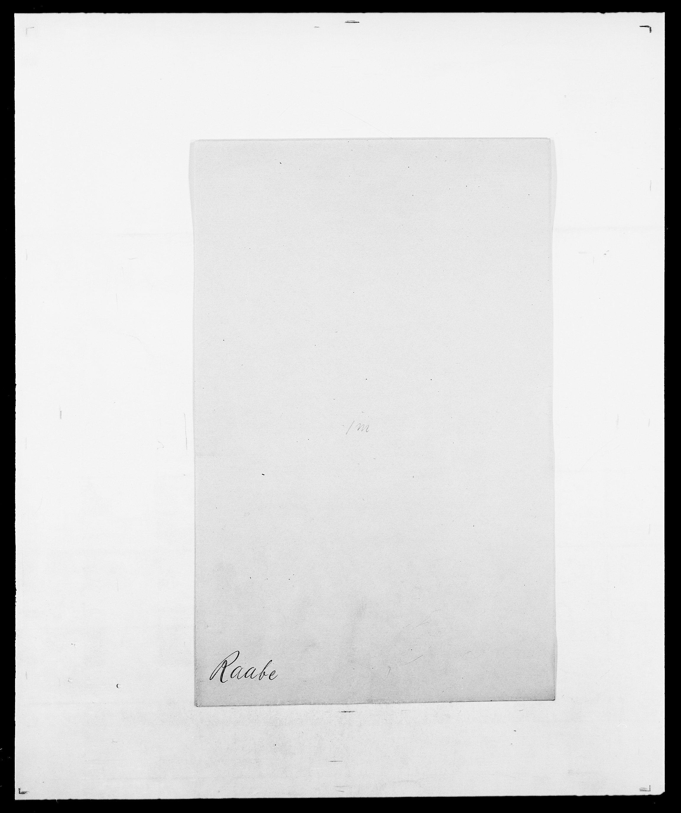 SAO, Delgobe, Charles Antoine - samling, D/Da/L0031: de Place - Raaum, s. 523