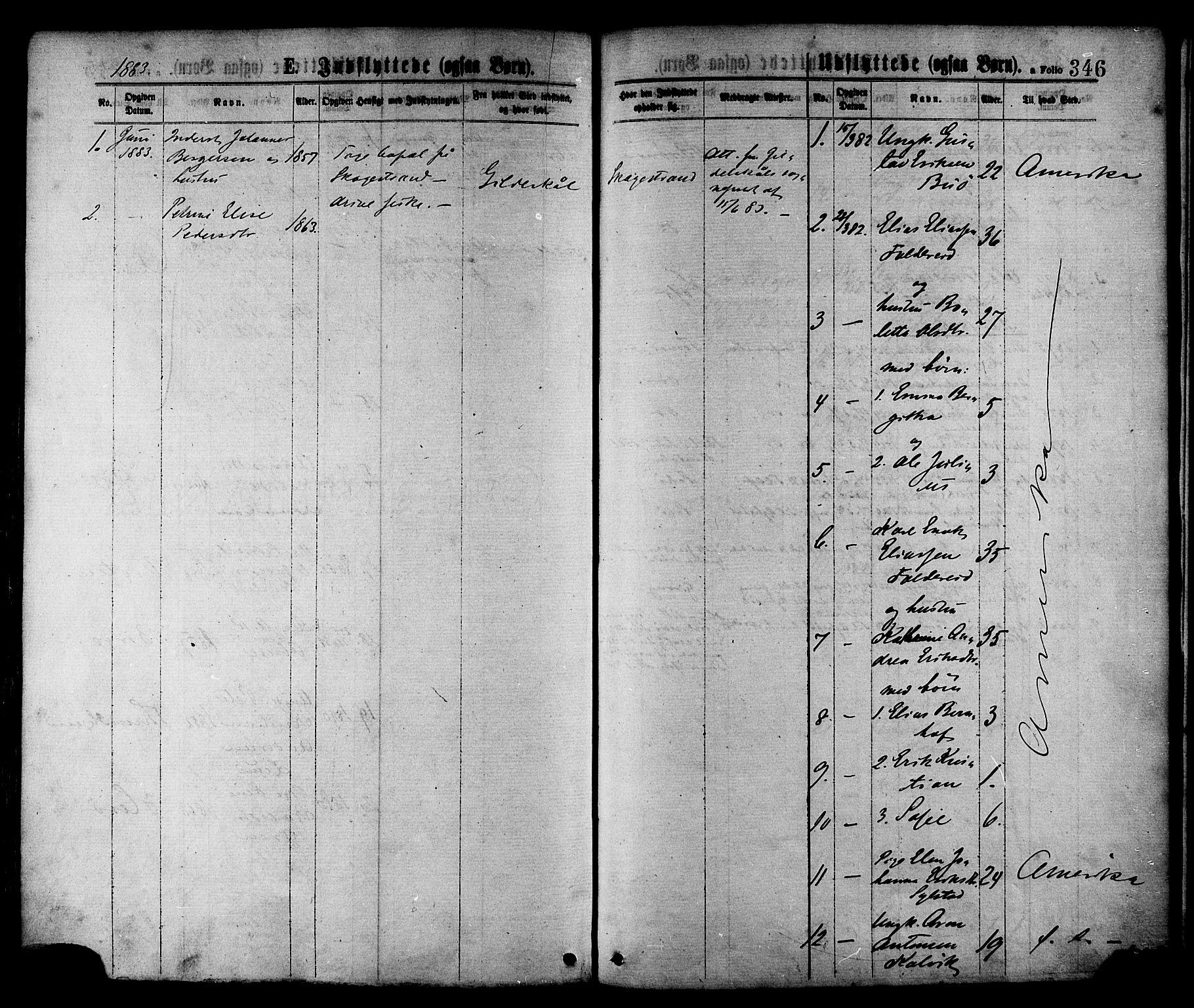 SAT, Ministerialprotokoller, klokkerbøker og fødselsregistre - Nord-Trøndelag, 780/L0642: Ministerialbok nr. 780A07 /1, 1874-1885, s. 346