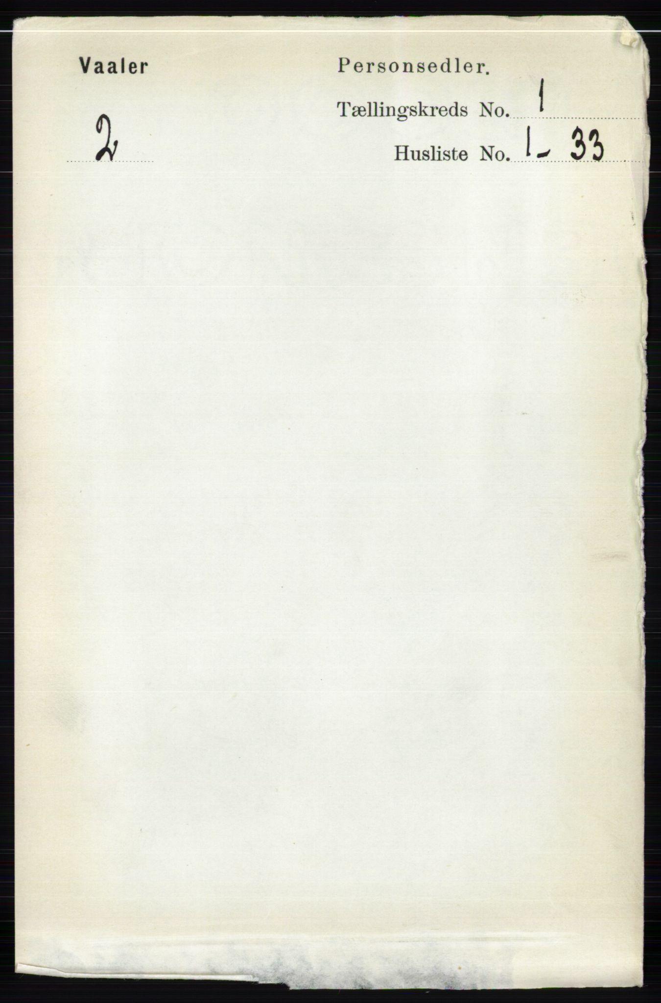 RA, Folketelling 1891 for 0426 Våler herred, 1891, s. 94
