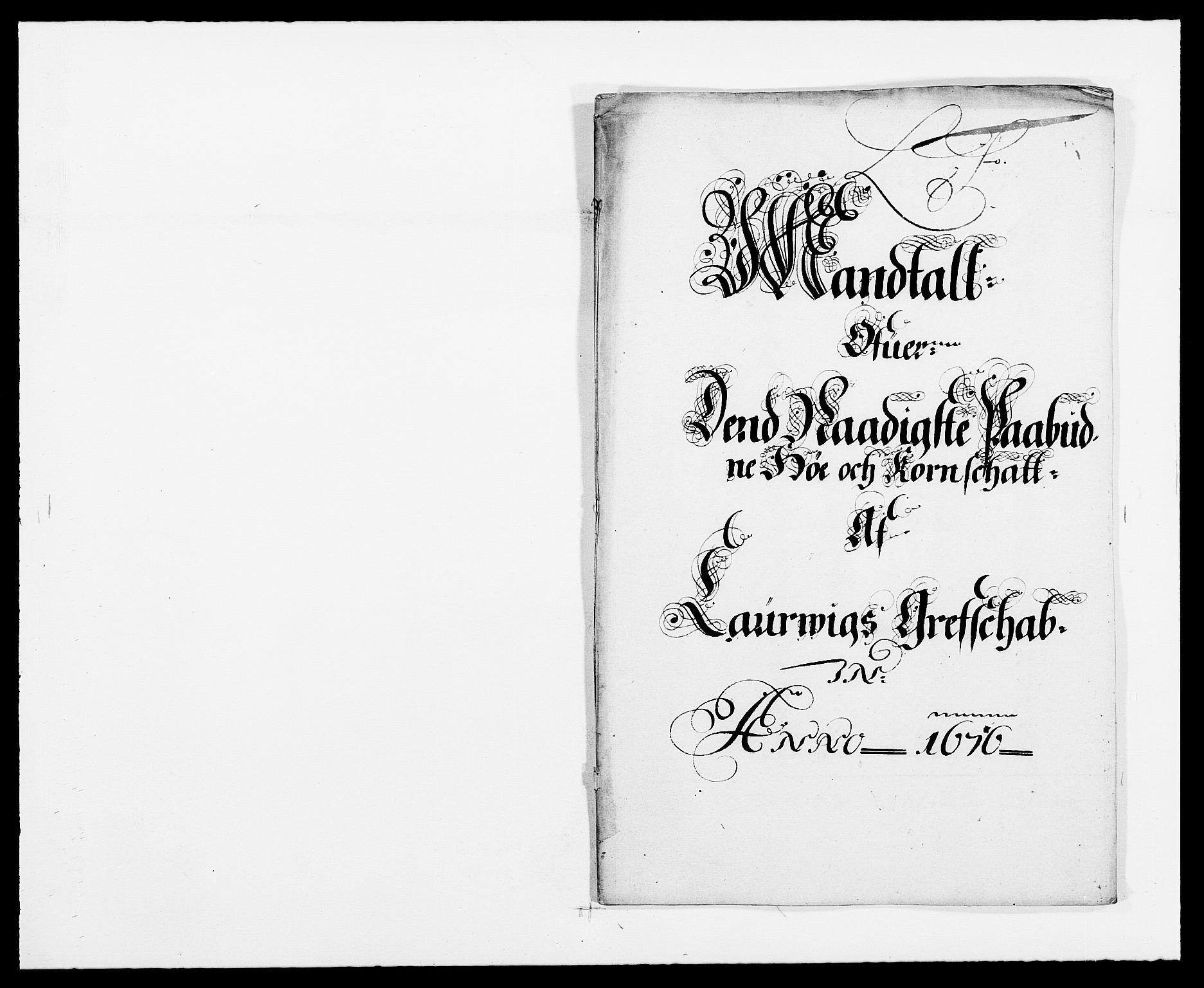 RA, Rentekammeret inntil 1814, Reviderte regnskaper, Fogderegnskap, R33/L1967: Fogderegnskap Larvik grevskap, 1675-1687, s. 338