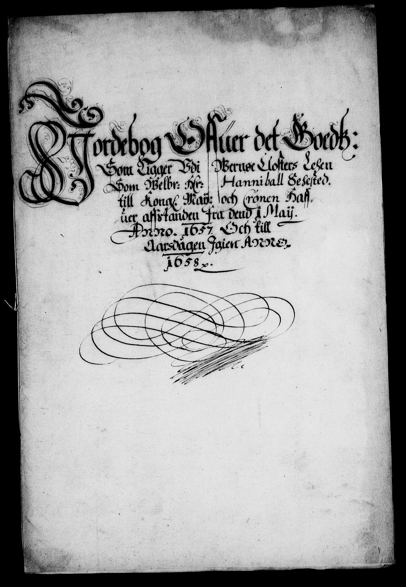RA, Rentekammeret inntil 1814, Realistisk ordnet avdeling, On/L0007: [Jj 8]: Jordebøker og dokumenter innlevert til kongelig kommisjon 1672: Verne klosters gods, 1658-1672, s. 2