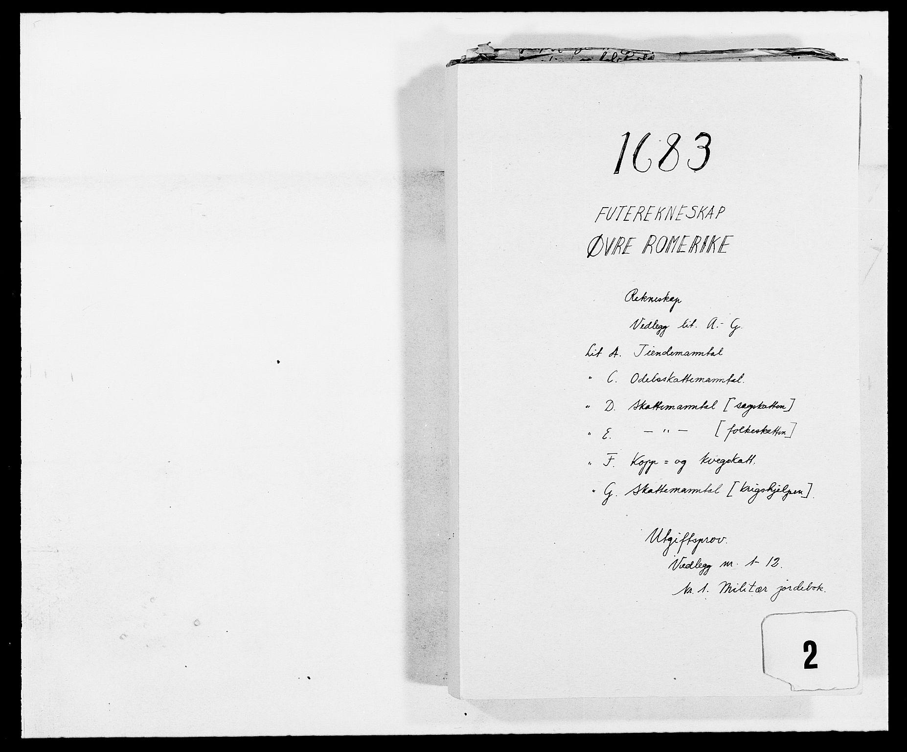 RA, Rentekammeret inntil 1814, Reviderte regnskaper, Fogderegnskap, R12/L0697: Fogderegnskap Øvre Romerike, 1682-1683, s. 266