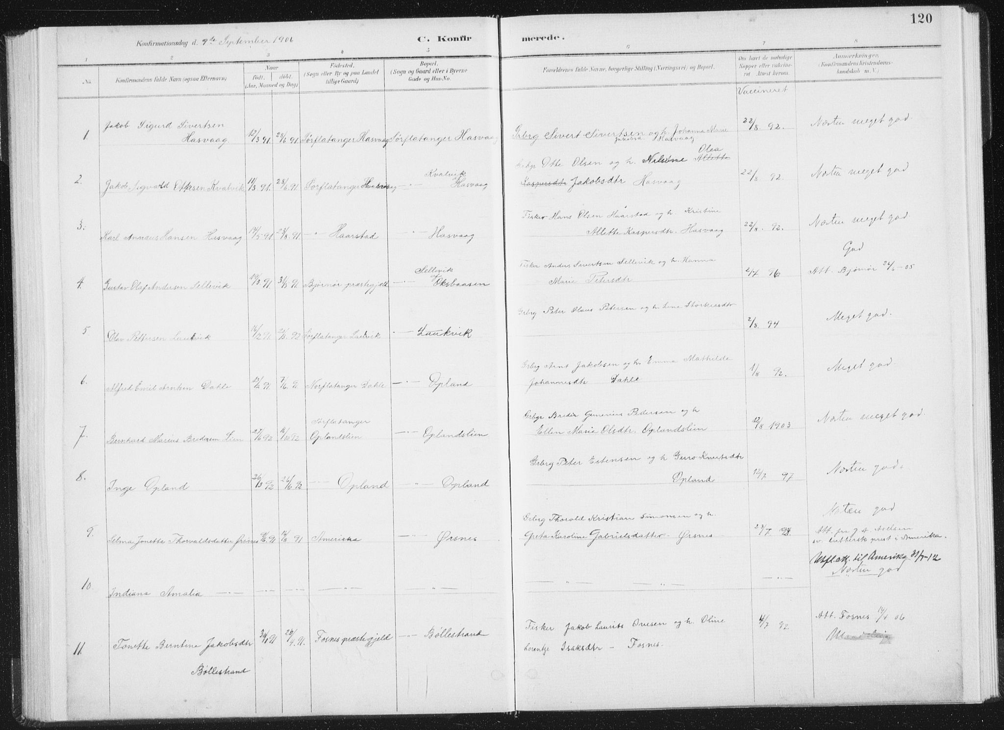SAT, Ministerialprotokoller, klokkerbøker og fødselsregistre - Nord-Trøndelag, 771/L0597: Ministerialbok nr. 771A04, 1885-1910, s. 120