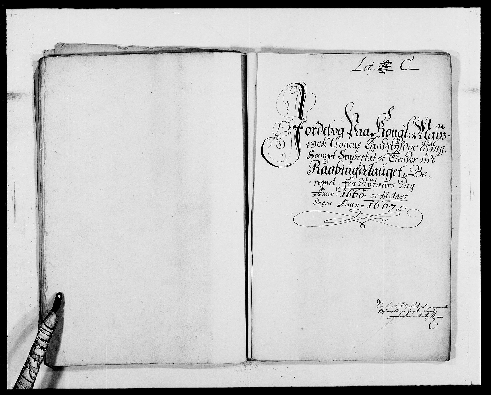 RA, Rentekammeret inntil 1814, Reviderte regnskaper, Fogderegnskap, R40/L2431: Fogderegnskap Råbyggelag, 1664-1668, s. 143