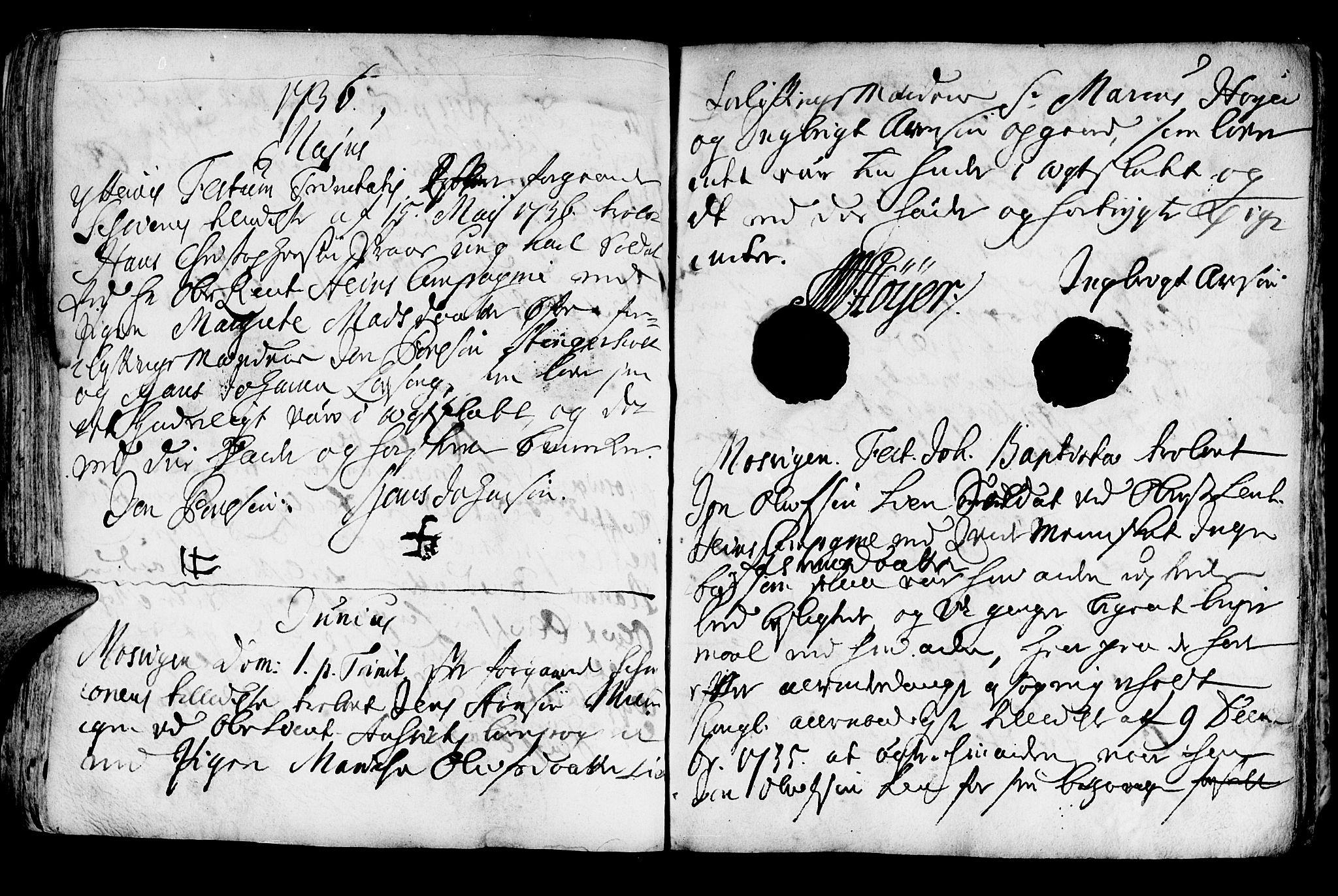 SAT, Ministerialprotokoller, klokkerbøker og fødselsregistre - Nord-Trøndelag, 722/L0215: Ministerialbok nr. 722A02, 1718-1755, s. 194b