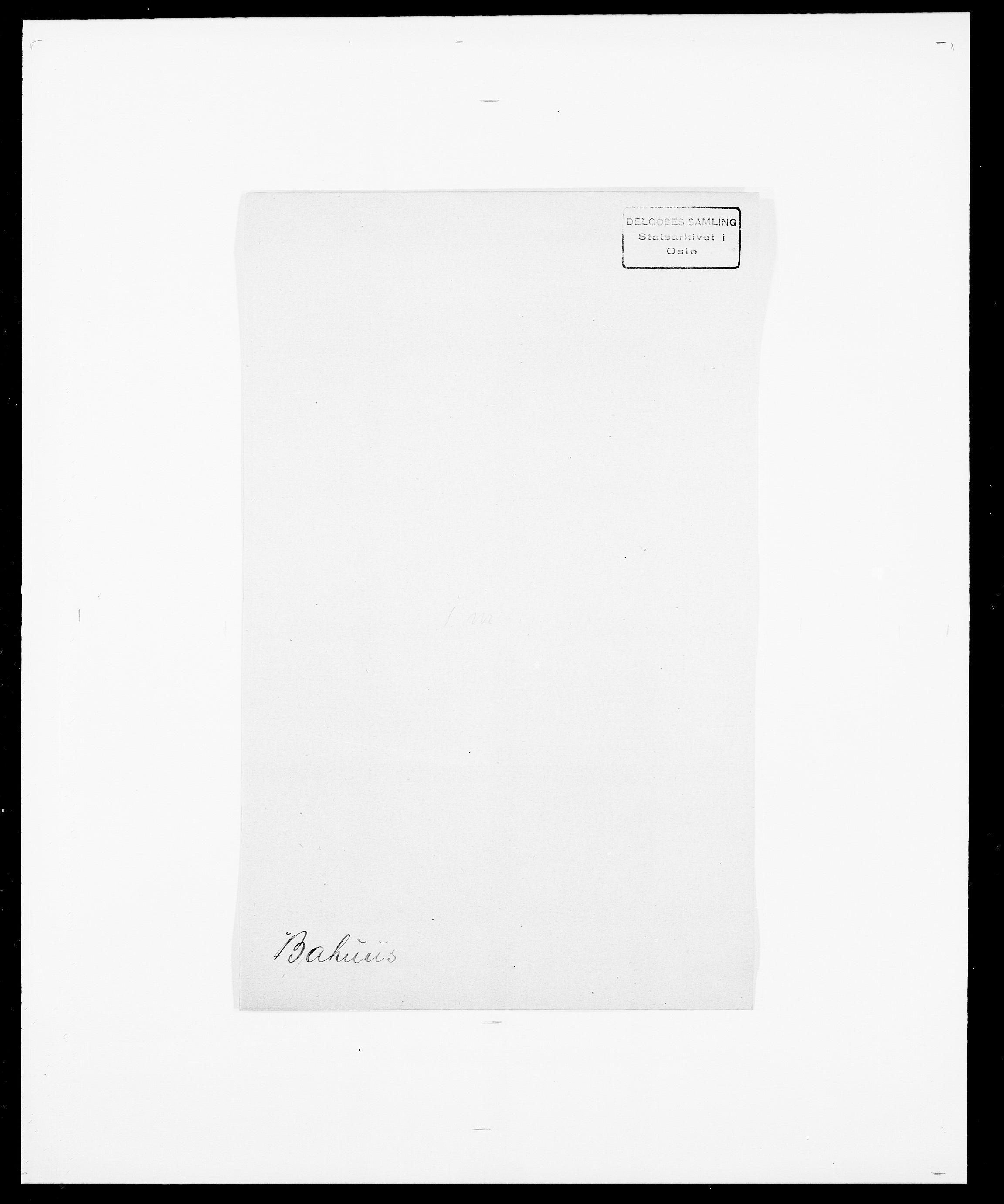 SAO, Delgobe, Charles Antoine - samling, D/Da/L0003: Barca - Bergen, s. 143