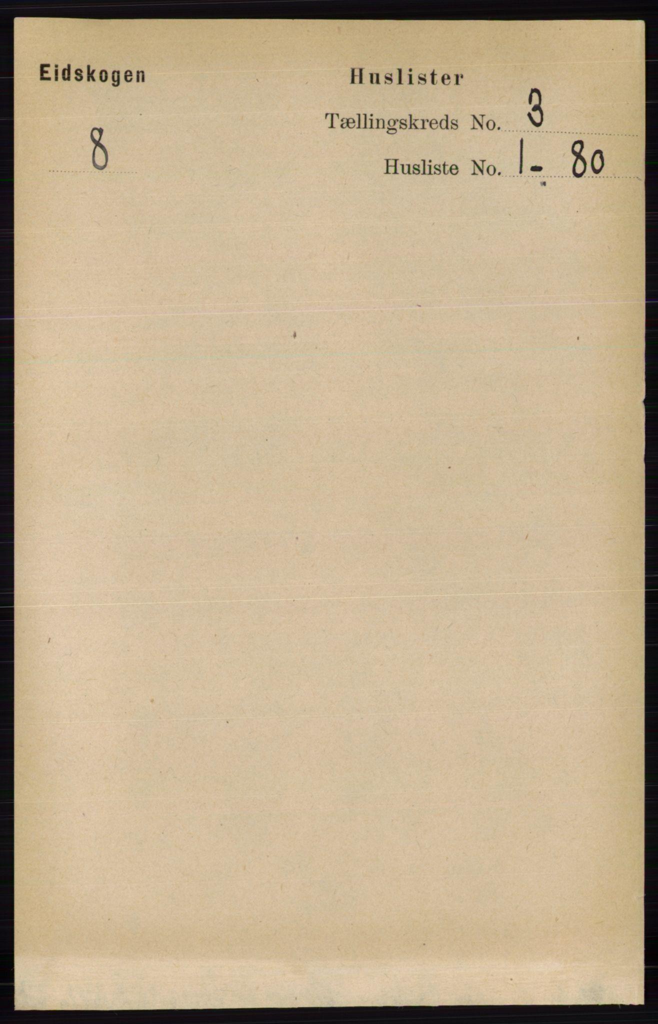 RA, Folketelling 1891 for 0420 Eidskog herred, 1891, s. 988