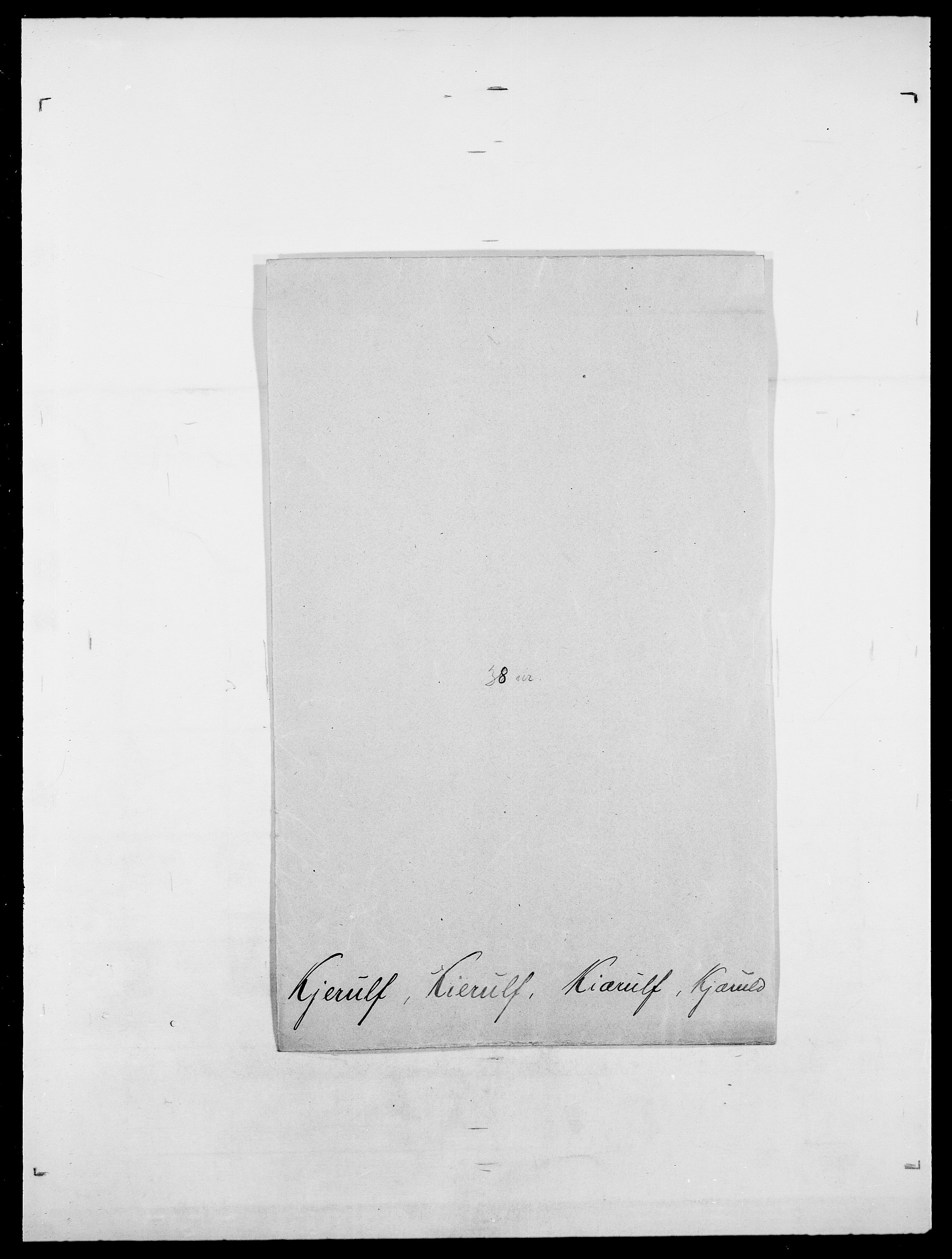 SAO, Delgobe, Charles Antoine - samling, D/Da/L0020: Irgens - Kjøsterud, s. 752