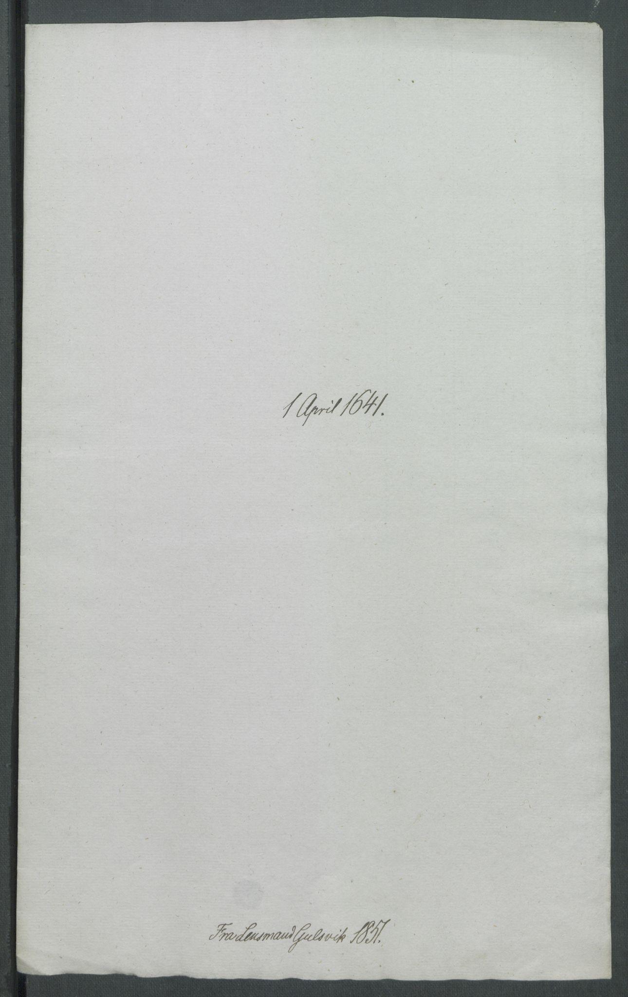 RA, Riksarkivets diplomsamling, F02/L0154: Dokumenter, 1641, s. 16