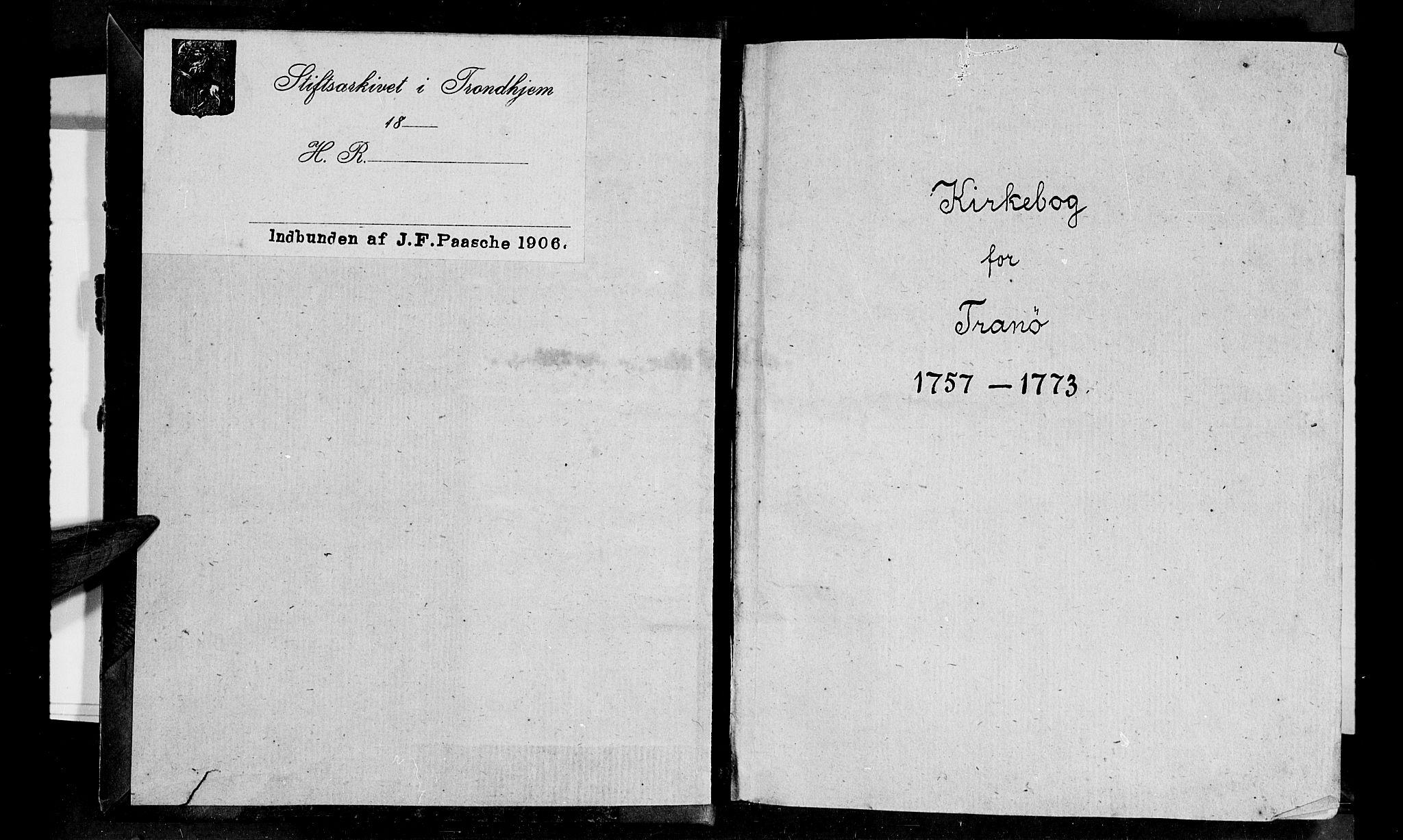 SATØ, Tranøy sokneprestkontor, I/Ia/Iaa/L0001kirke: Ministerialbok nr. 1, 1757-1773