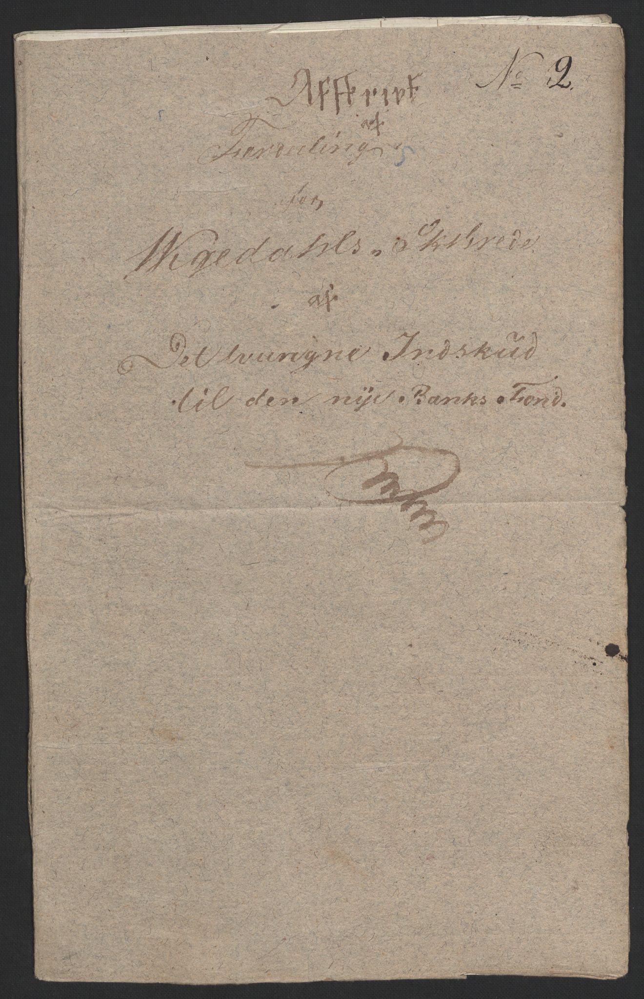 NOBA, Norges Bank/Sølvskatten 1816*, 1816, s. 15