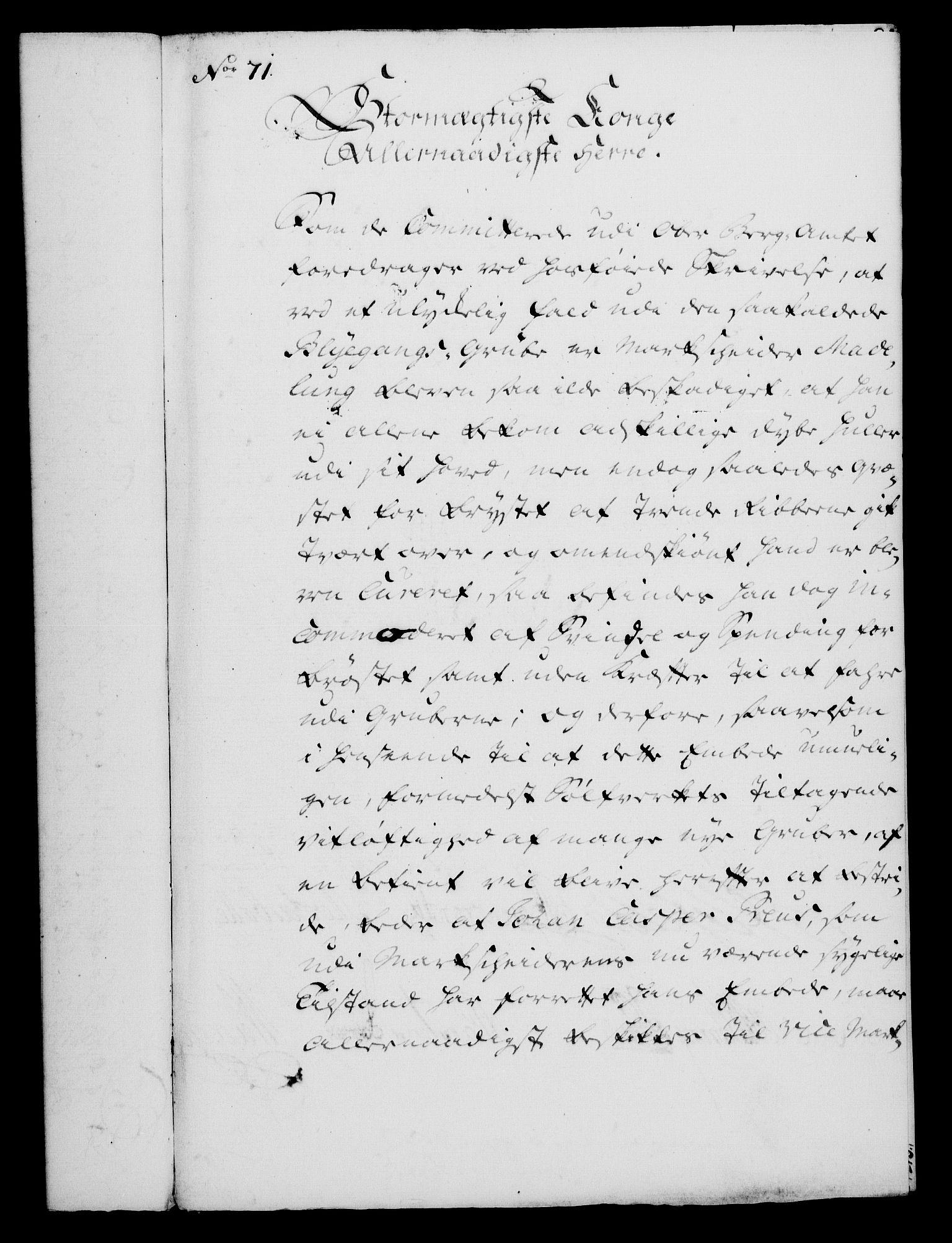RA, Rentekammeret, Kammerkanselliet, G/Gf/Gfa/L0043: Norsk relasjons- og resolusjonsprotokoll (merket RK 52.43), 1761, s. 283