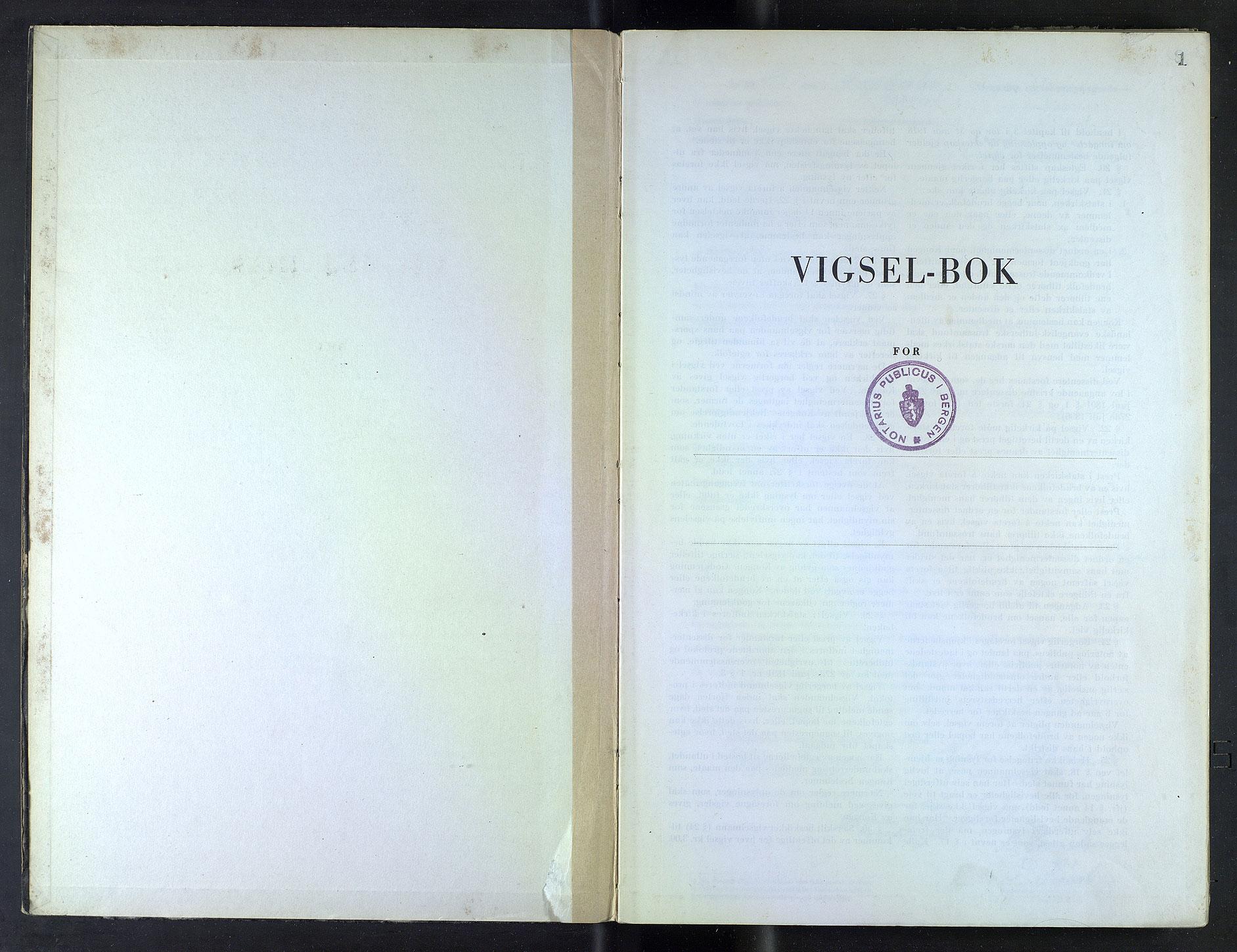 SAB, Bergen byfogd og byskriver*, 1948-1949, s. 1