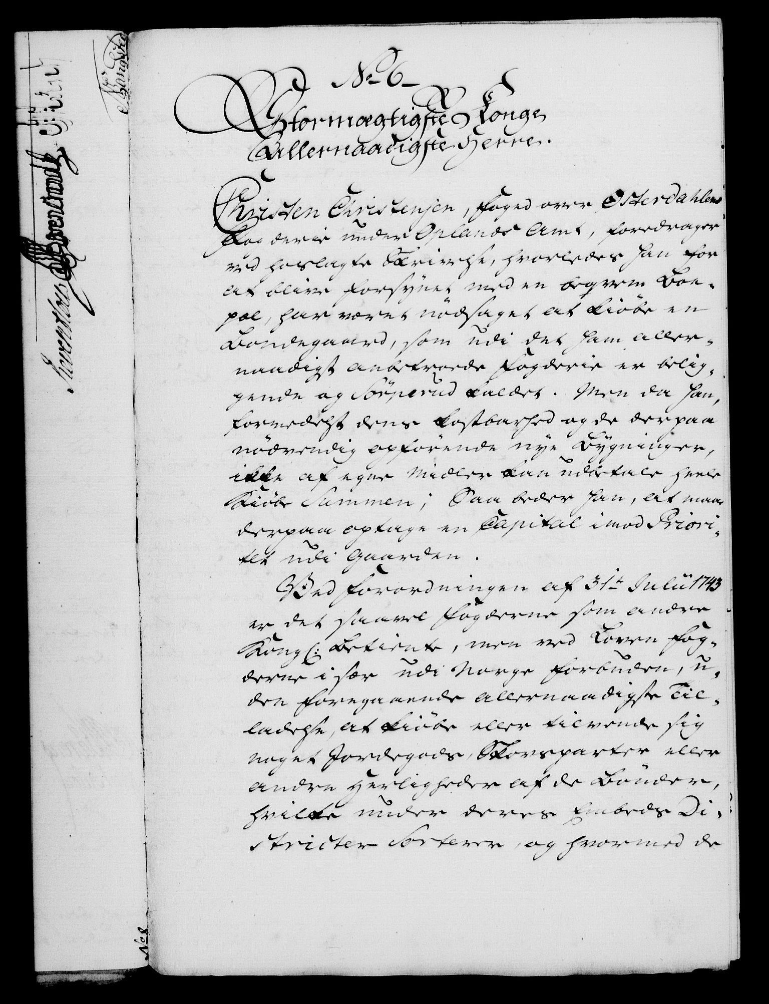 RA, Rentekammeret, Kammerkanselliet, G/Gf/Gfa/L0047: Norsk relasjons- og resolusjonsprotokoll (merket RK 52.47), 1765, s. 55