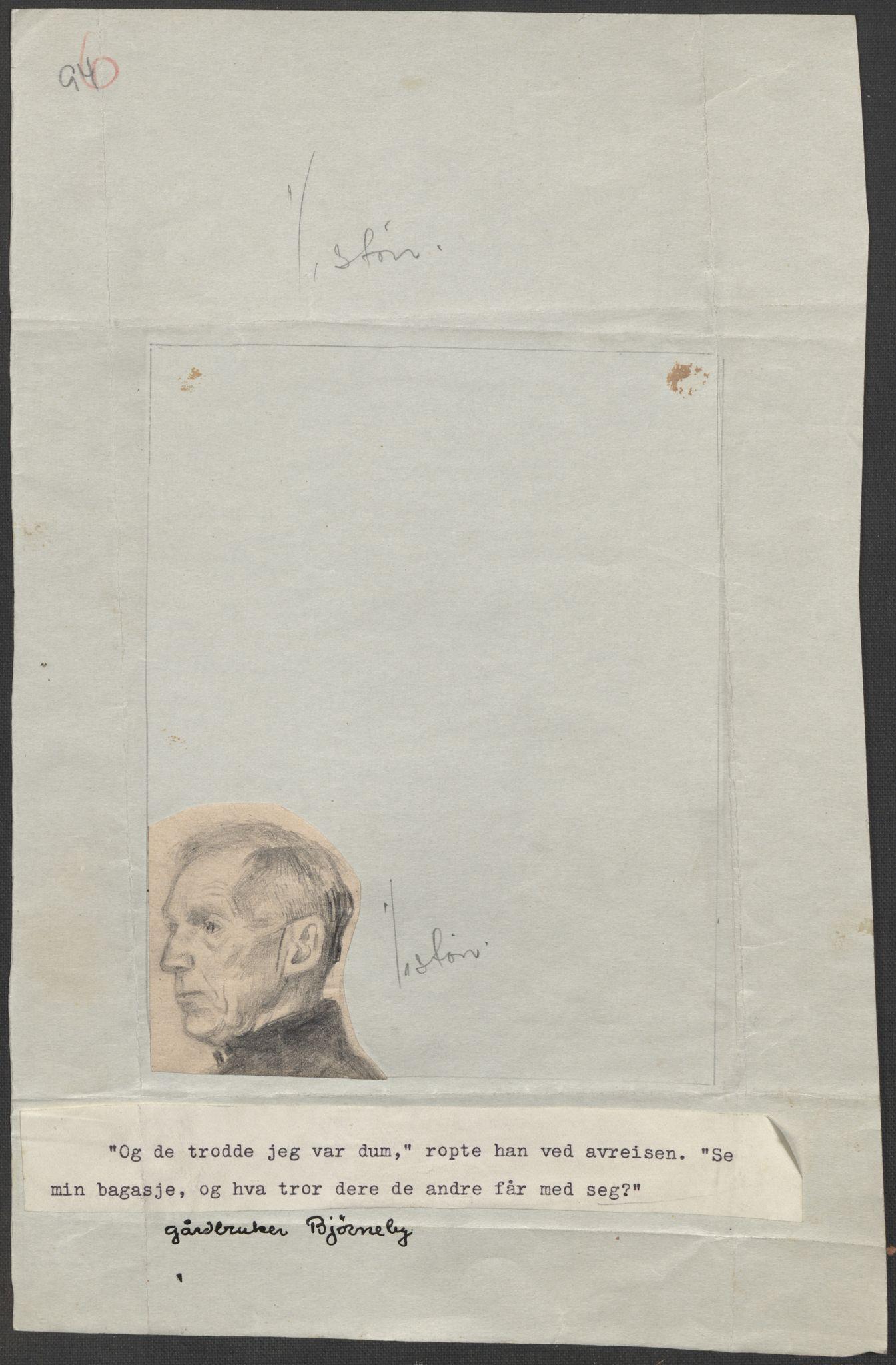 RA, Grøgaard, Joachim, F/L0002: Tegninger og tekster, 1942-1945, s. 4