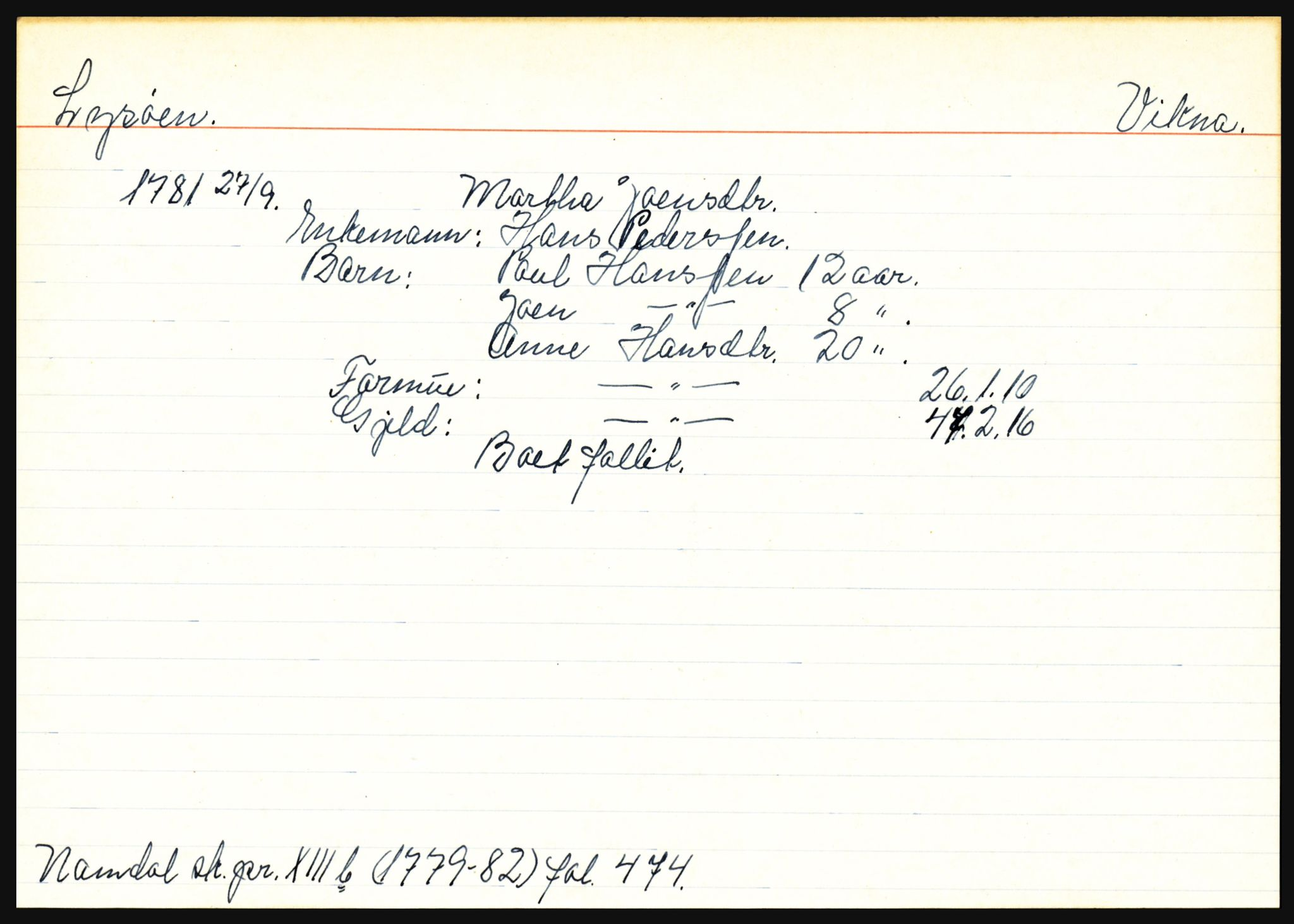 SAT, Namdal sorenskriveri, 3, 1656-1803, s. 5125