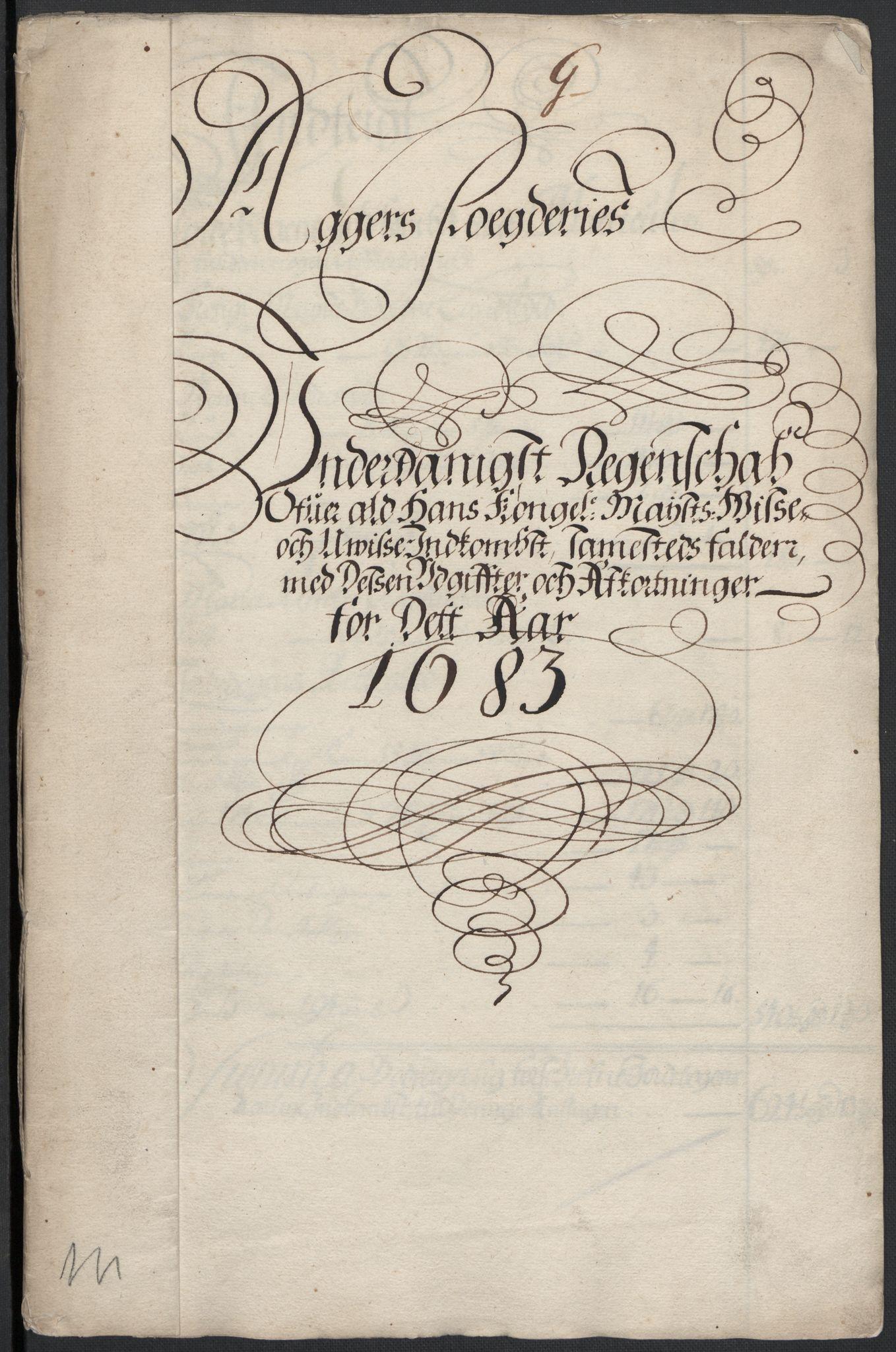 RA, Rentekammeret inntil 1814, Reviderte regnskaper, Fogderegnskap, R08/L0420: Fogderegnskap Aker, 1682-1691, s. 212