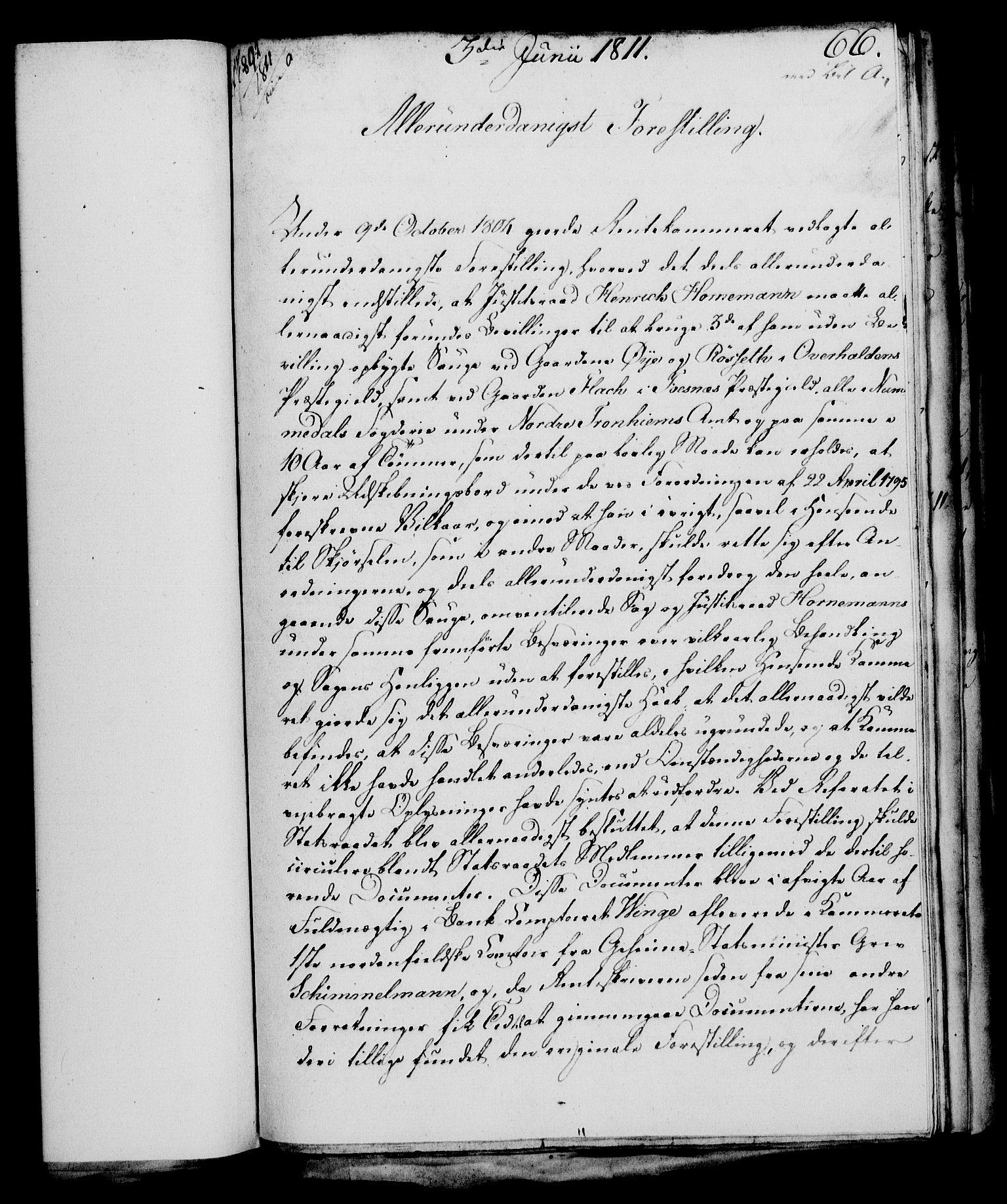 RA, Rentekammeret, Kammerkanselliet, G/Gf/Gfa/L0093: Norsk relasjons- og resolusjonsprotokoll (merket RK 52.93), 1811, s. 252