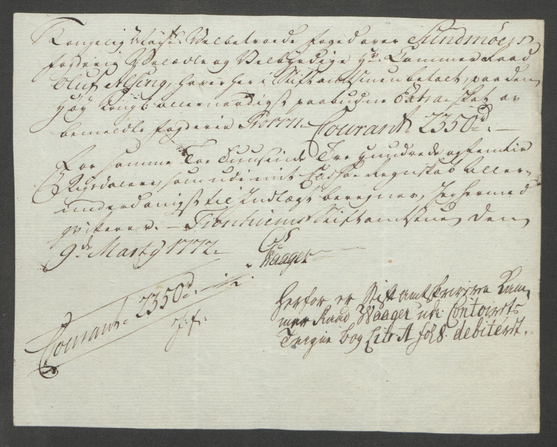 RA, Rentekammeret inntil 1814, Reviderte regnskaper, Fogderegnskap, R54/L3645: Ekstraskatten Sunnmøre, 1762-1772, s. 219