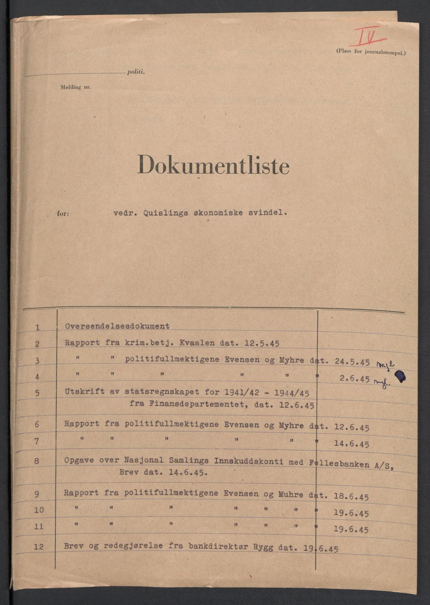 RA, Landssvikarkivet, D/Da/L0006: Dnr. 29, 1945, s. 425