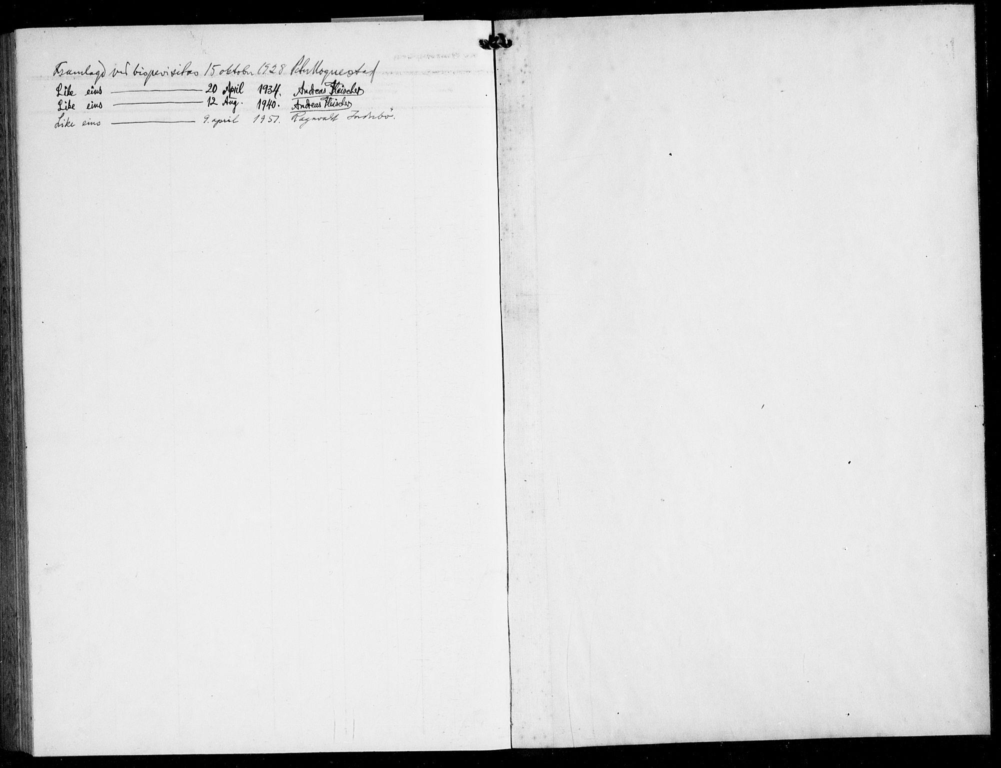 SAB, Finnås sokneprestembete, H/Ha/Hab/Haba/L0005: Klokkerbok nr. A 5, 1924-1945
