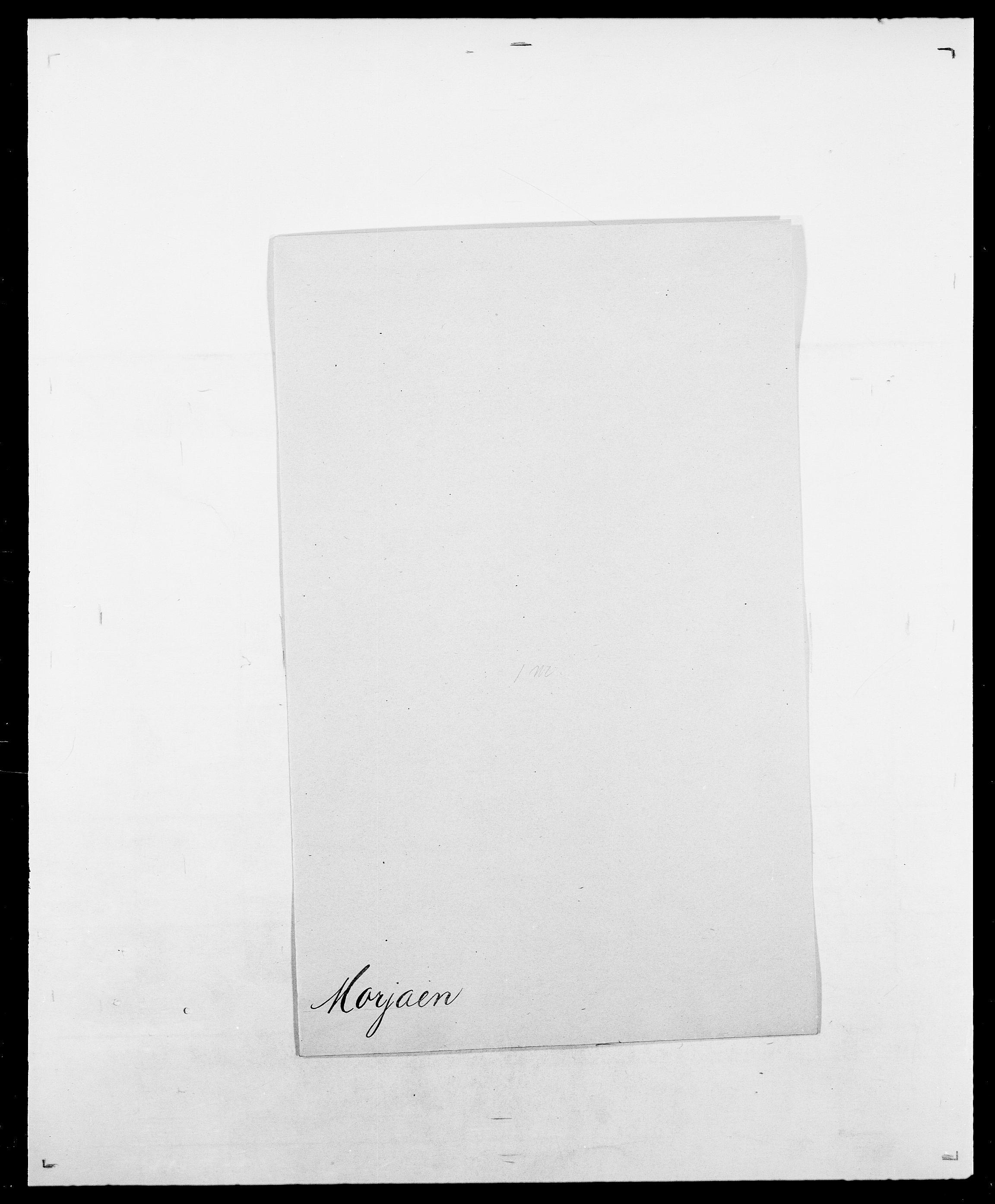 SAO, Delgobe, Charles Antoine - samling, D/Da/L0027: Morath - v. Møsting, s. 12