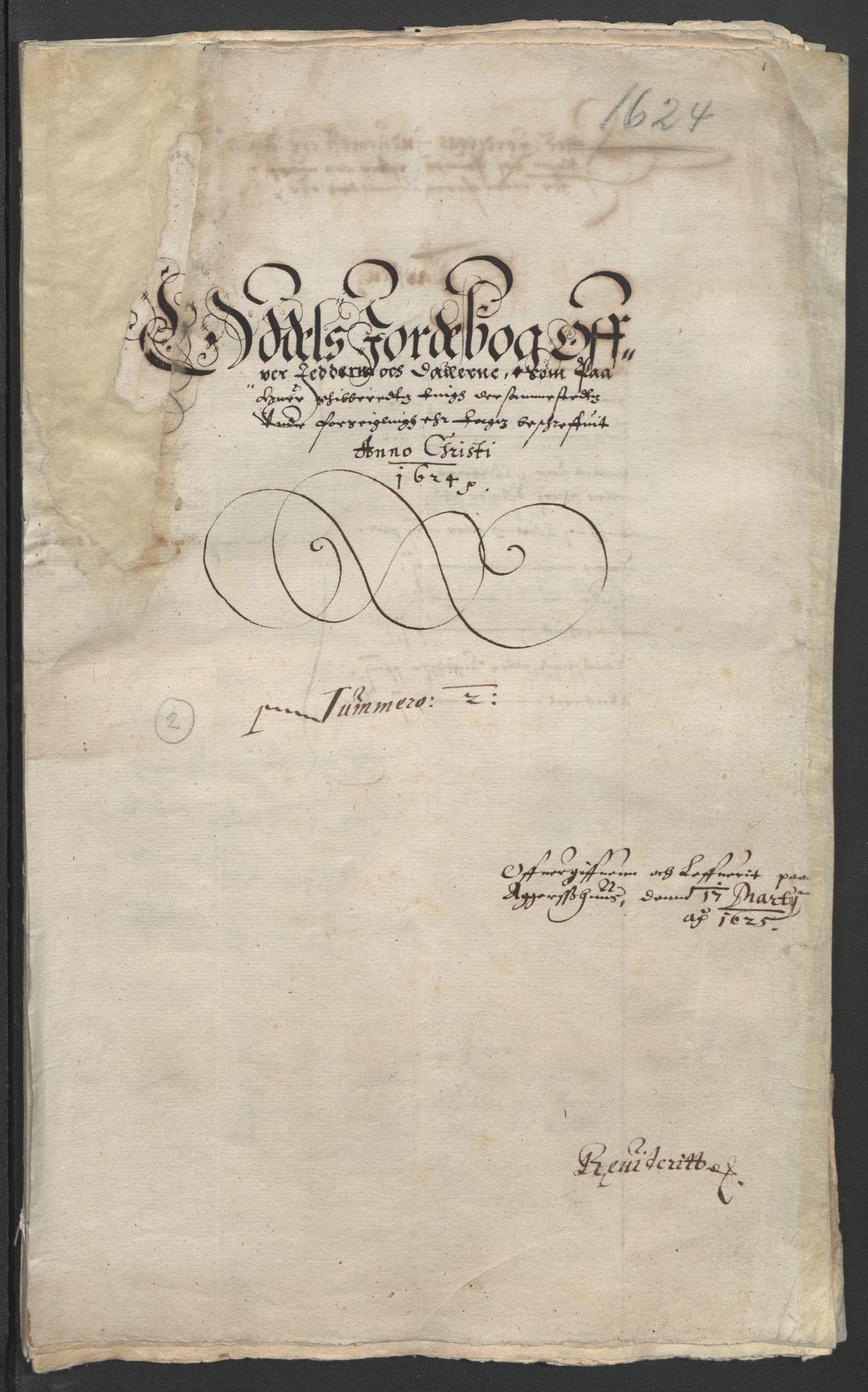 RA, Stattholderembetet 1572-1771, Ek/L0010: Jordebøker til utlikning av rosstjeneste 1624-1626:, 1624-1626, s. 35