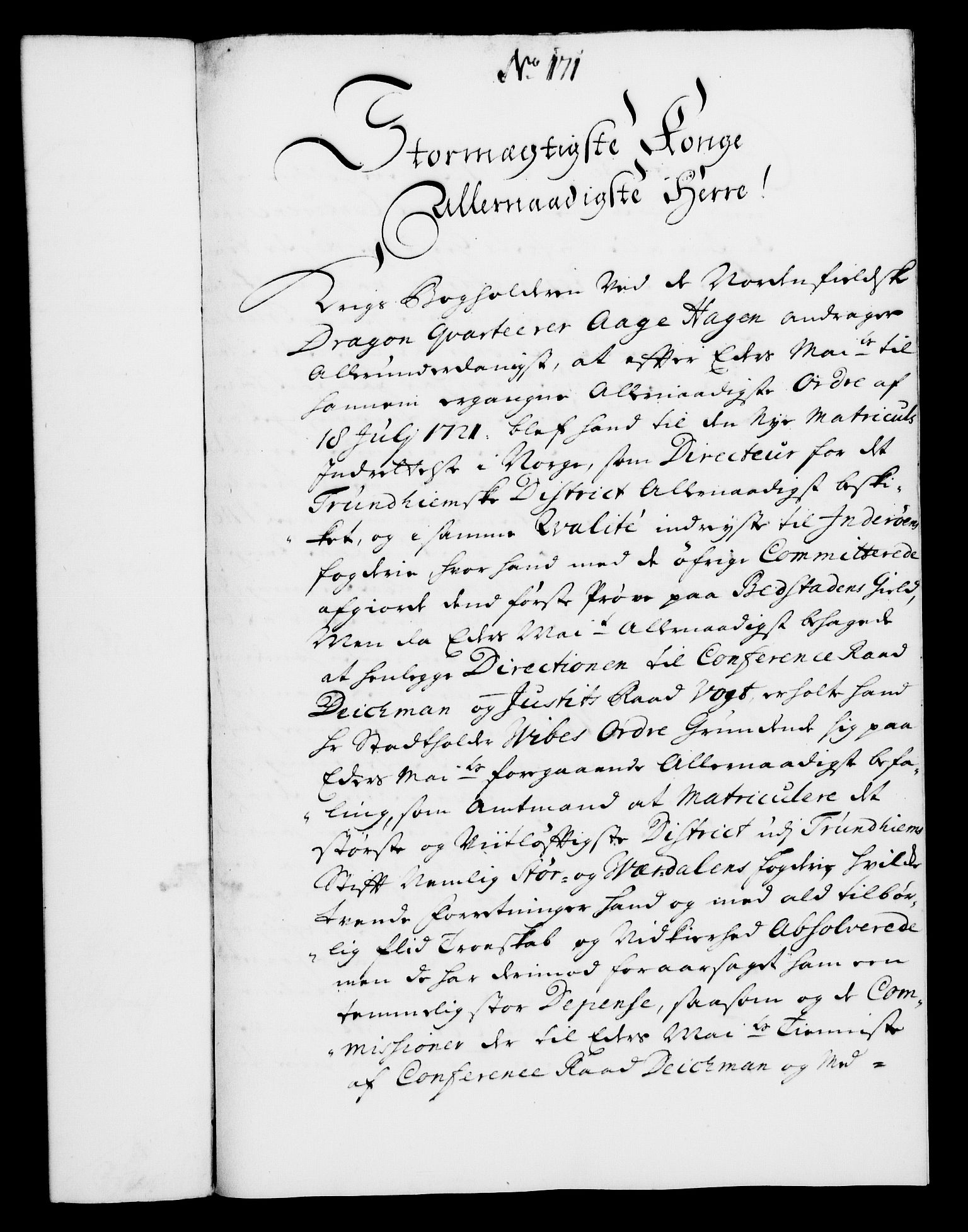 RA, Rentekammeret, Kammerkanselliet, G/Gf/Gfa/L0008: Norsk relasjons- og resolusjonsprotokoll (merket RK 52.8), 1725, s. 940