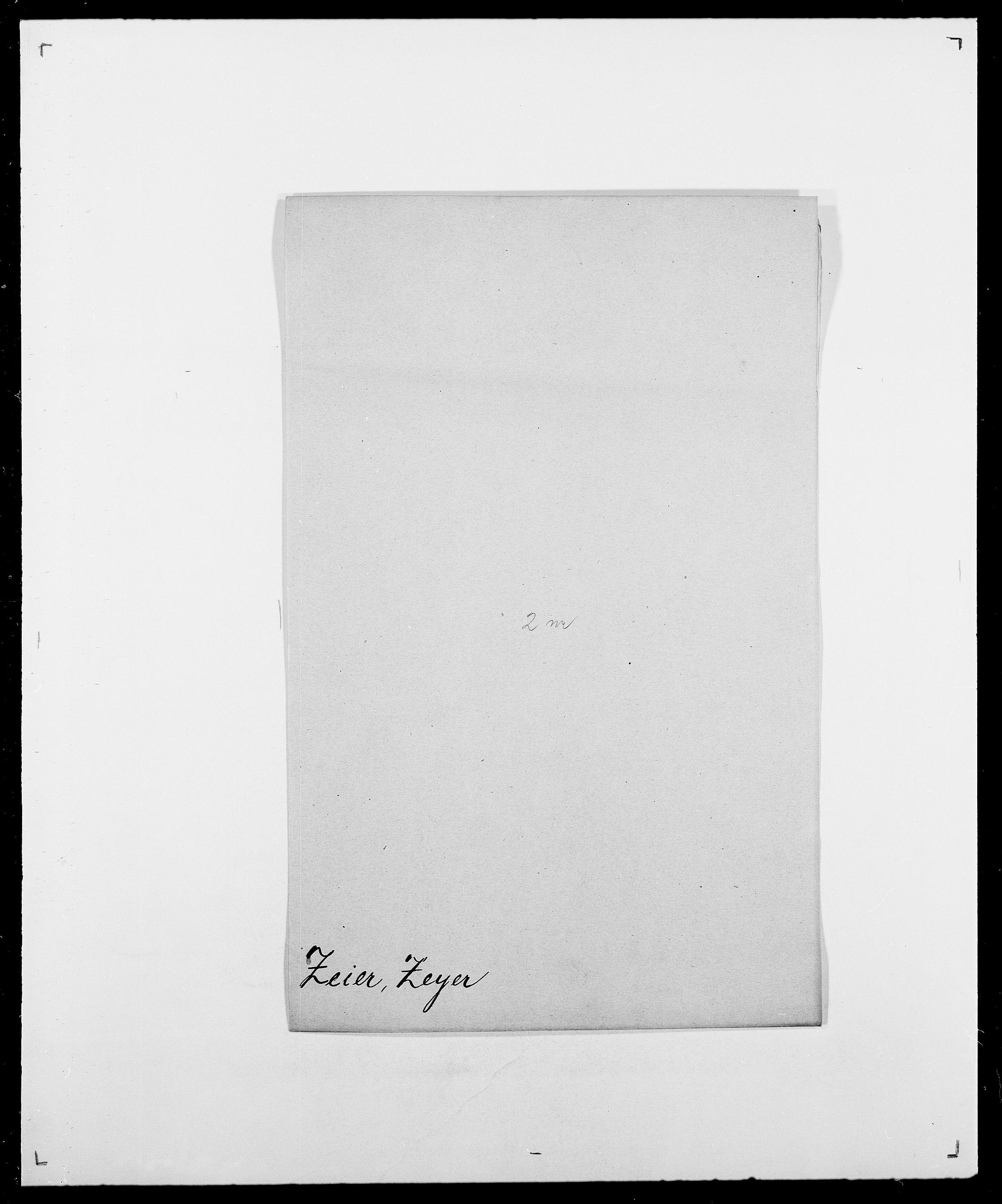SAO, Delgobe, Charles Antoine - samling, D/Da/L0043: Wulfsberg - v. Zanten, s. 101