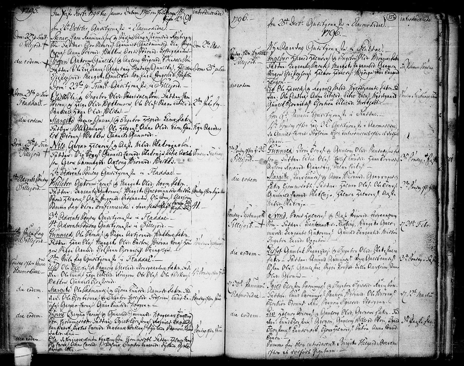 SAKO, Seljord kirkebøker, F/Fa/L0007: Ministerialbok nr. I 7, 1755-1800, s. 156