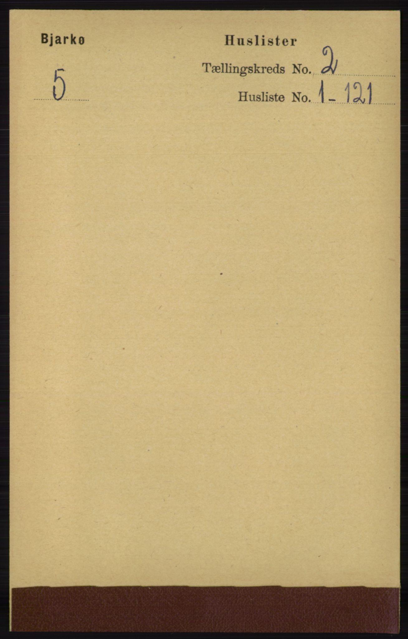 RA, Folketelling 1891 for 1915 Bjarkøy herred, 1891, s. 566