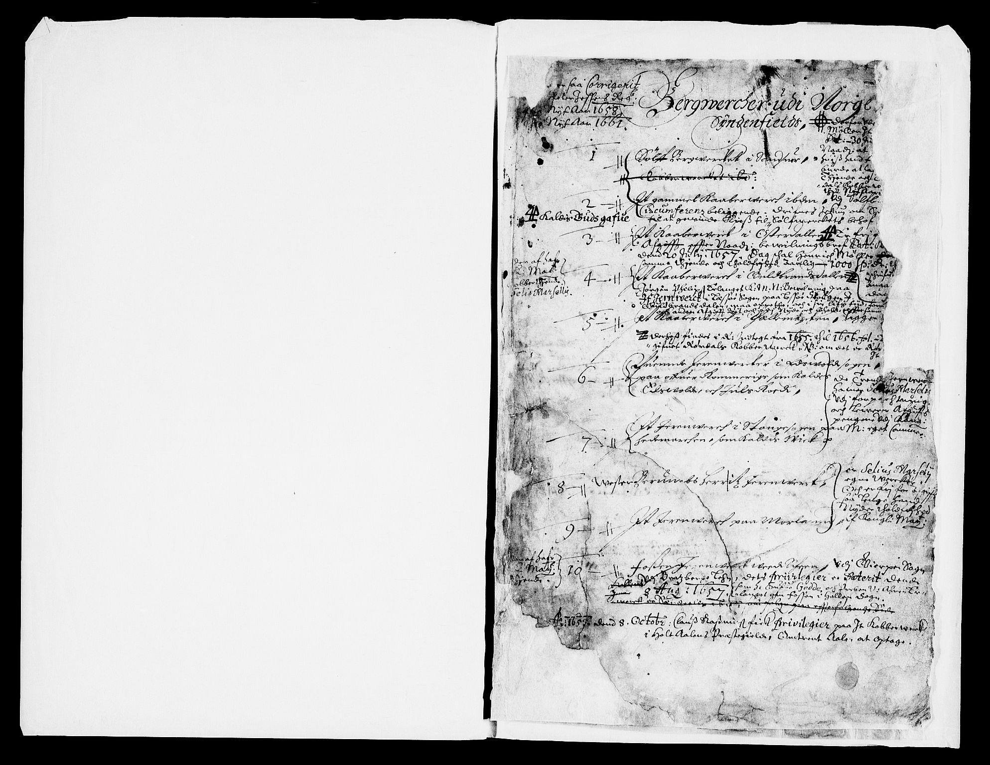 RA, Danske Kanselli, Skapsaker, G/L0019: Tillegg til skapsakene, 1616-1753, s. 155