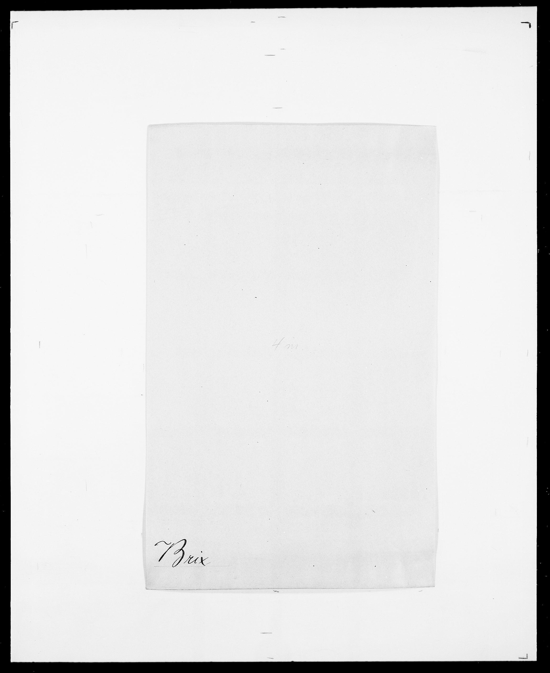 SAO, Delgobe, Charles Antoine - samling, D/Da/L0006: Brambani - Brønø, s. 406