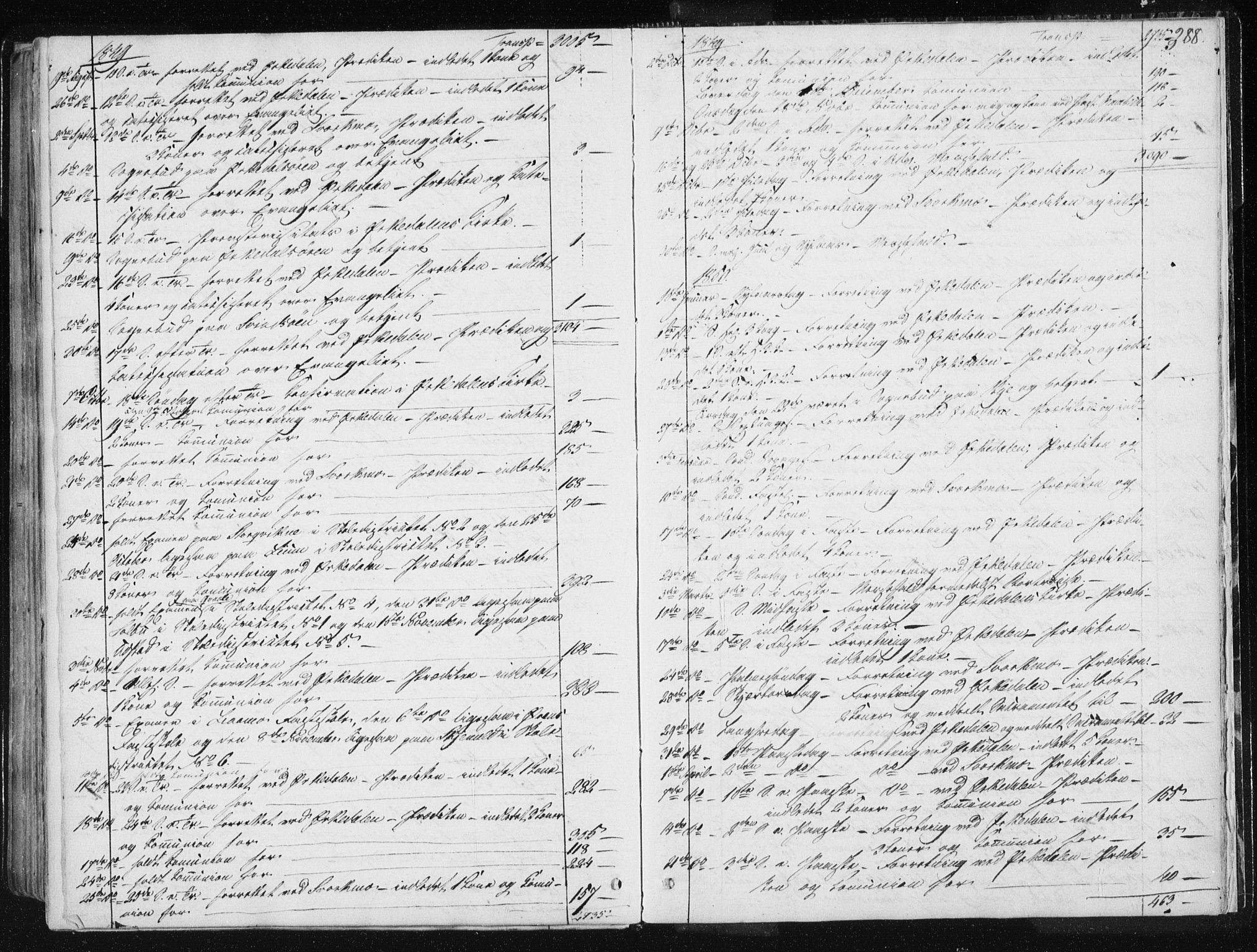 SAT, Ministerialprotokoller, klokkerbøker og fødselsregistre - Sør-Trøndelag, 668/L0805: Ministerialbok nr. 668A05, 1840-1853, s. 388