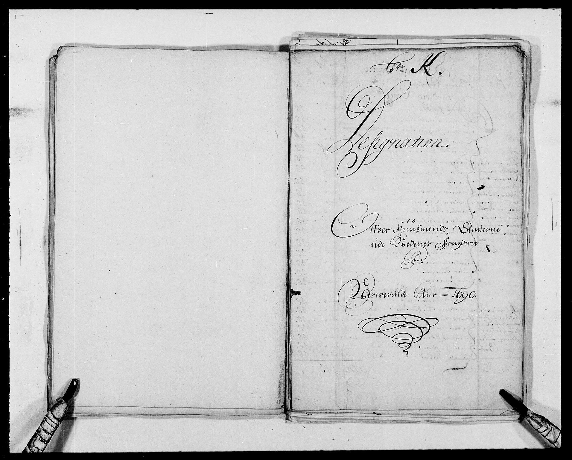 RA, Rentekammeret inntil 1814, Reviderte regnskaper, Fogderegnskap, R39/L2310: Fogderegnskap Nedenes, 1690-1692, s. 235