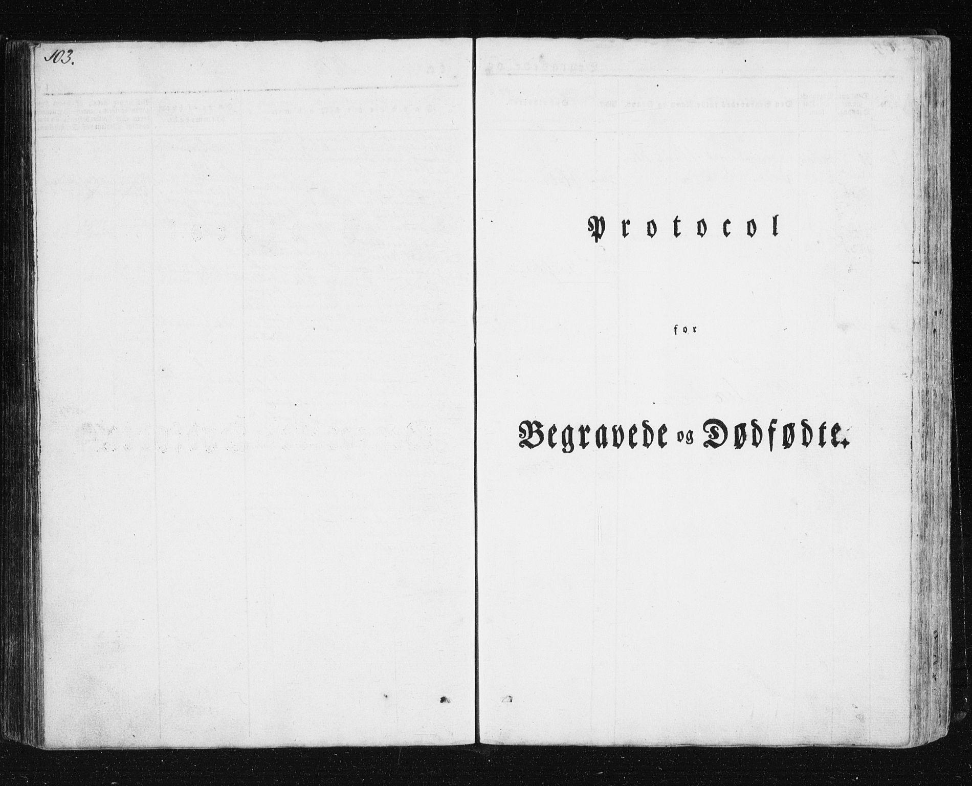 SATØ, Mefjord/Berg sokneprestkontor, G/Ga/Gab/L0011klokker: Klokkerbok nr. 11, 1833-1878, s. 103