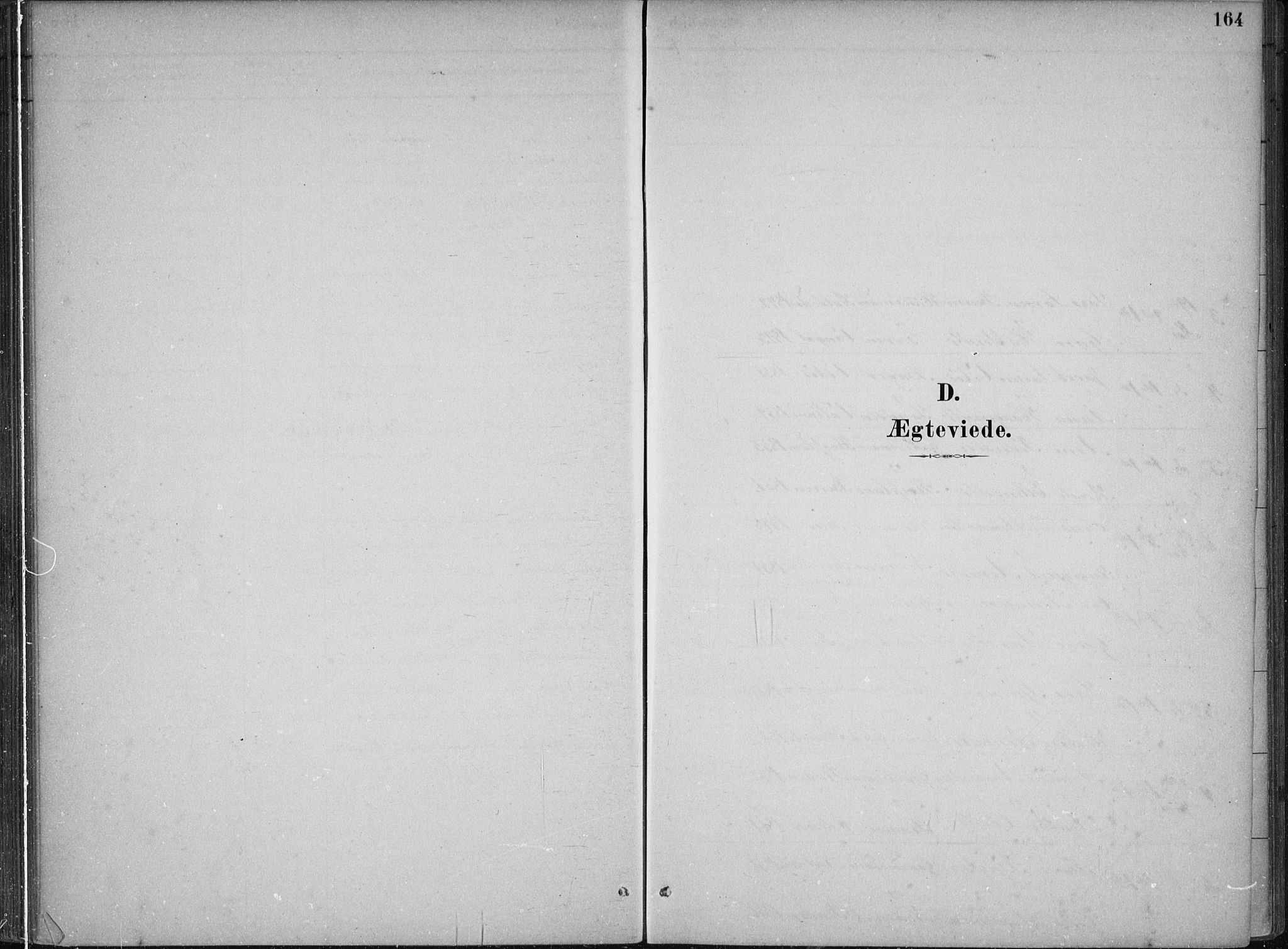SAB, Kvam sokneprestembete, H/Haa: Ministerialbok nr. B  1, 1880-1908, s. 164