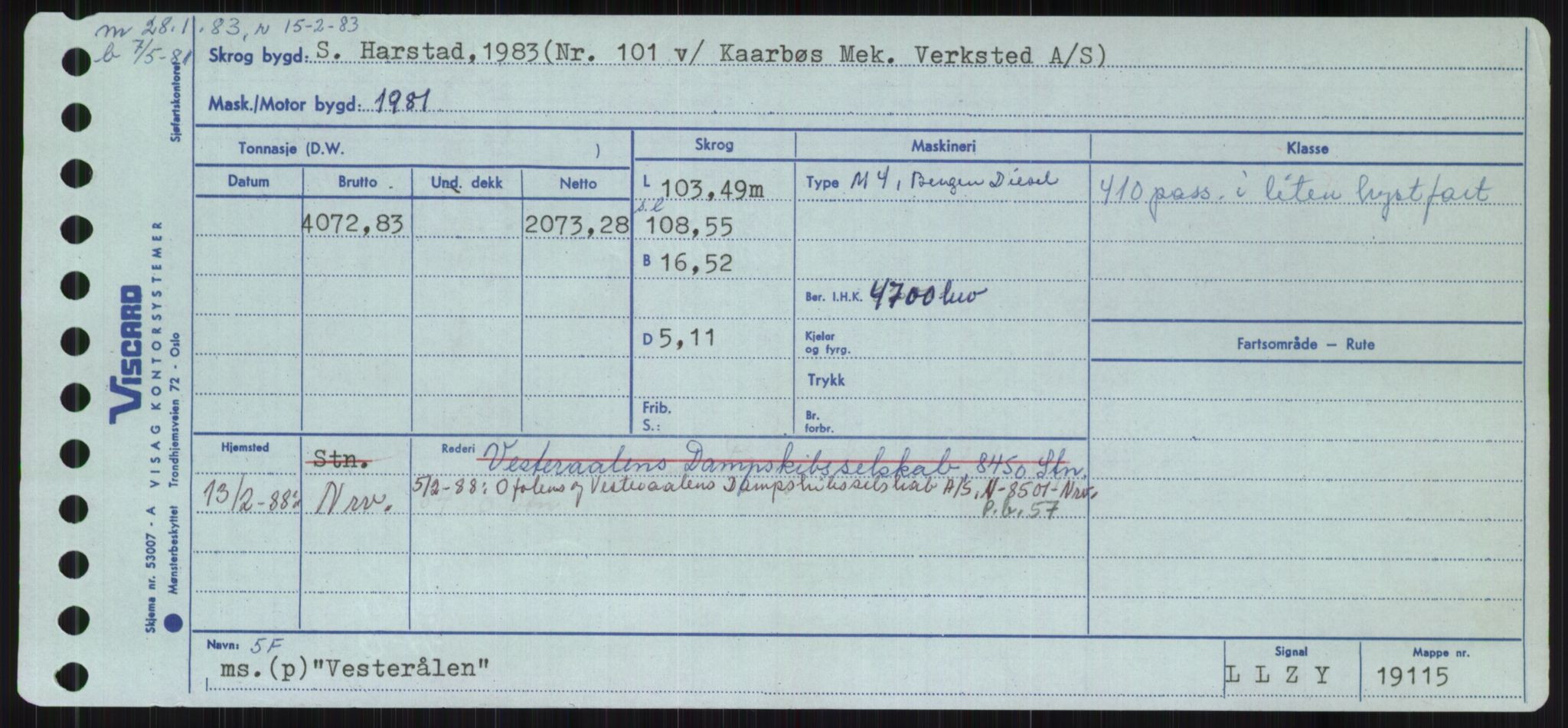 RA, Sjøfartsdirektoratet med forløpere, Skipsmålingen, H/Ha/L0006: Fartøy, Sver-Å, s. 311