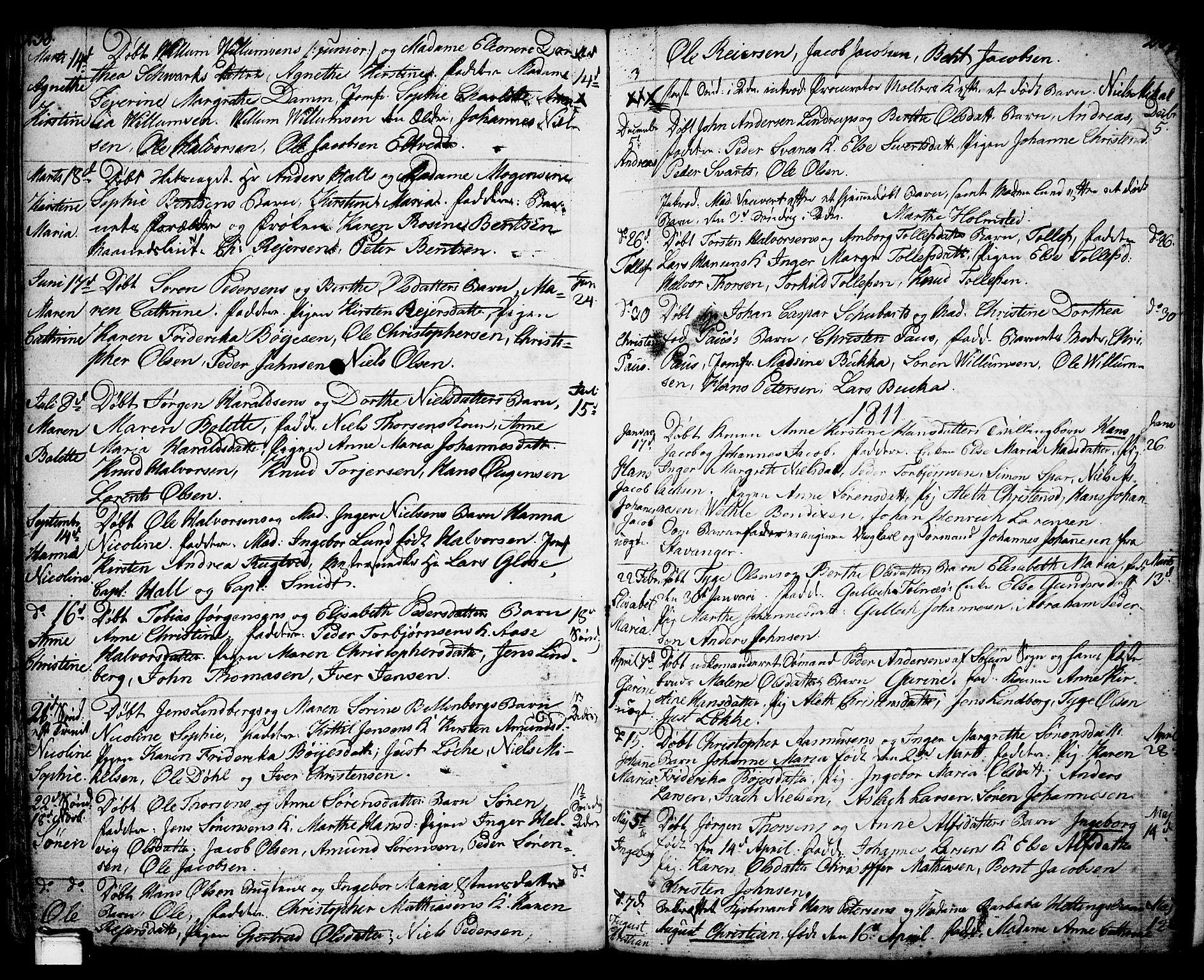 SAKO, Porsgrunn kirkebøker , F/Fa/L0001: Ministerialbok nr. 1, 1764-1814, s. 238-239