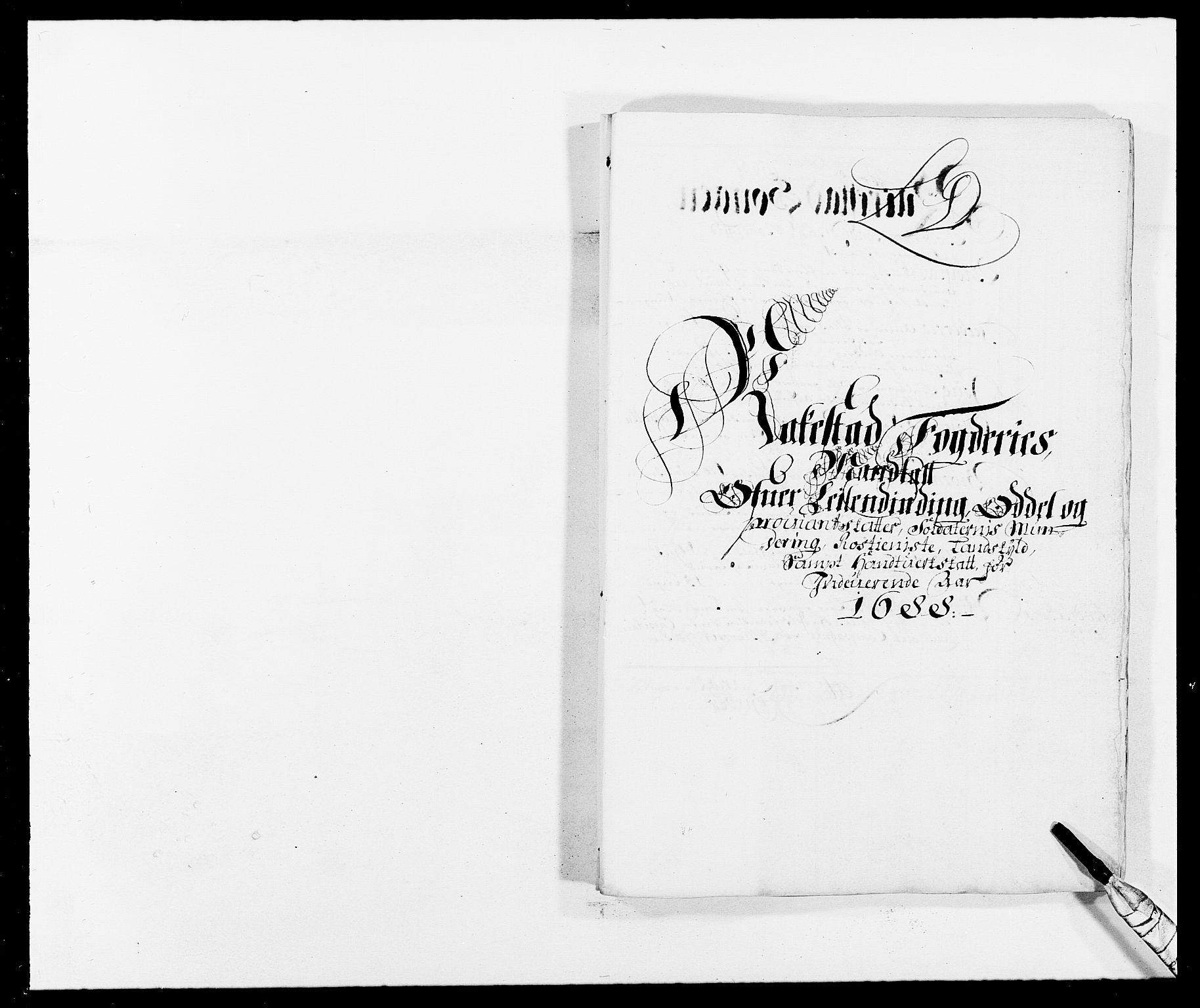 RA, Rentekammeret inntil 1814, Reviderte regnskaper, Fogderegnskap, R05/L0276: Fogderegnskap Rakkestad, 1683-1688, s. 143