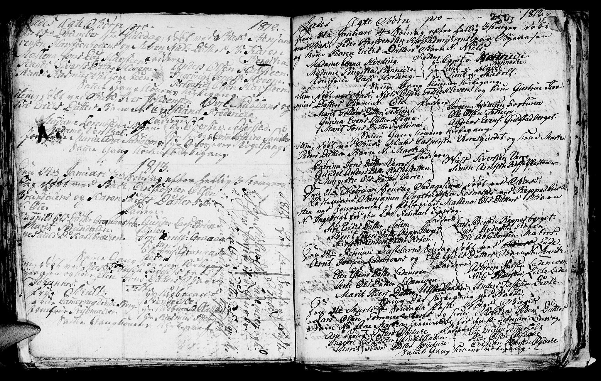 SAT, Ministerialprotokoller, klokkerbøker og fødselsregistre - Sør-Trøndelag, 606/L0305: Klokkerbok nr. 606C01, 1757-1819, s. 252