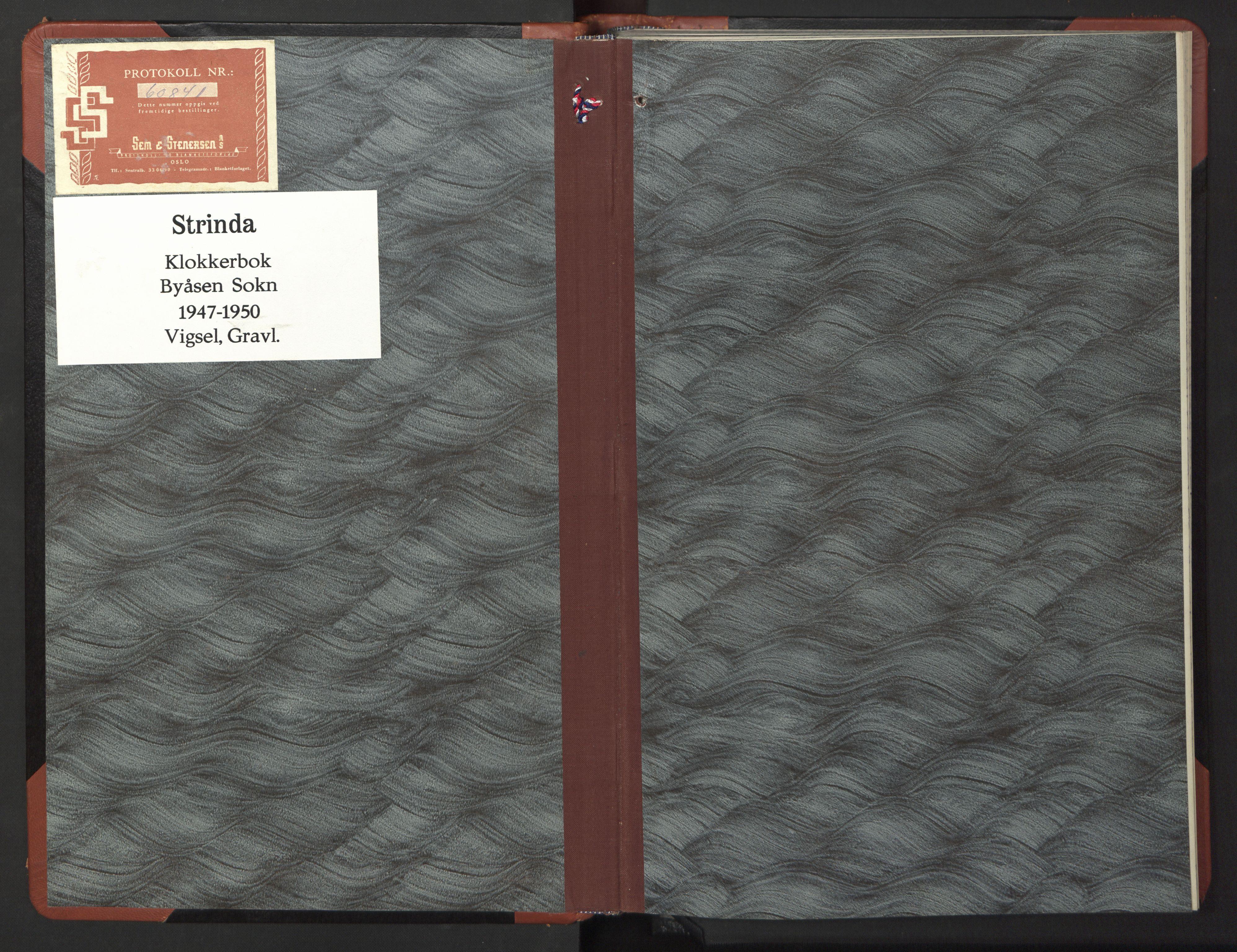 SAT, Ministerialprotokoller, klokkerbøker og fødselsregistre - Sør-Trøndelag, 611/L0359: Klokkerbok nr. 611C07, 1947-1950