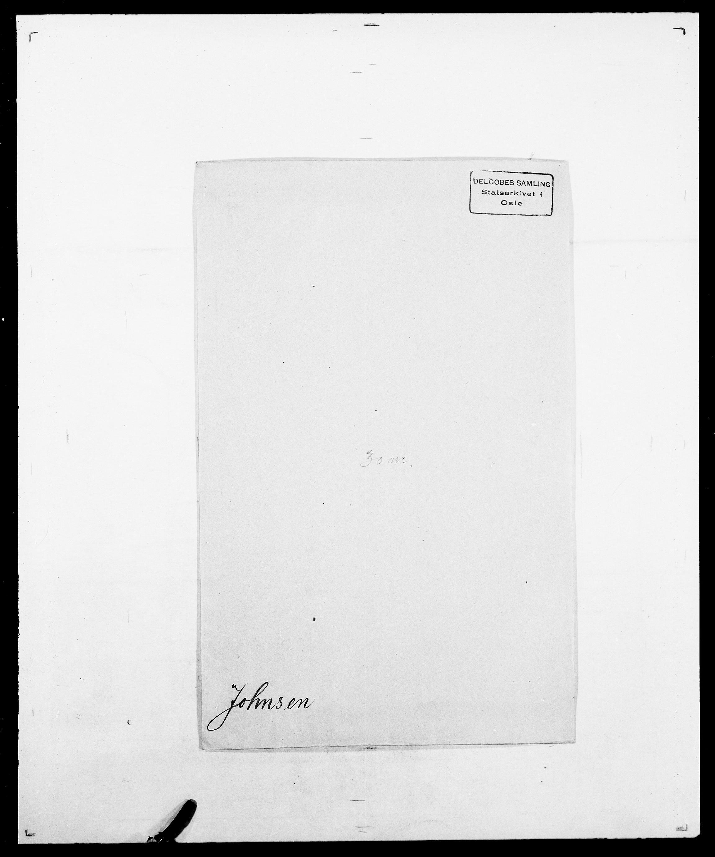 SAO, Delgobe, Charles Antoine - samling, D/Da/L0019: van der Hude - Joys, s. 829