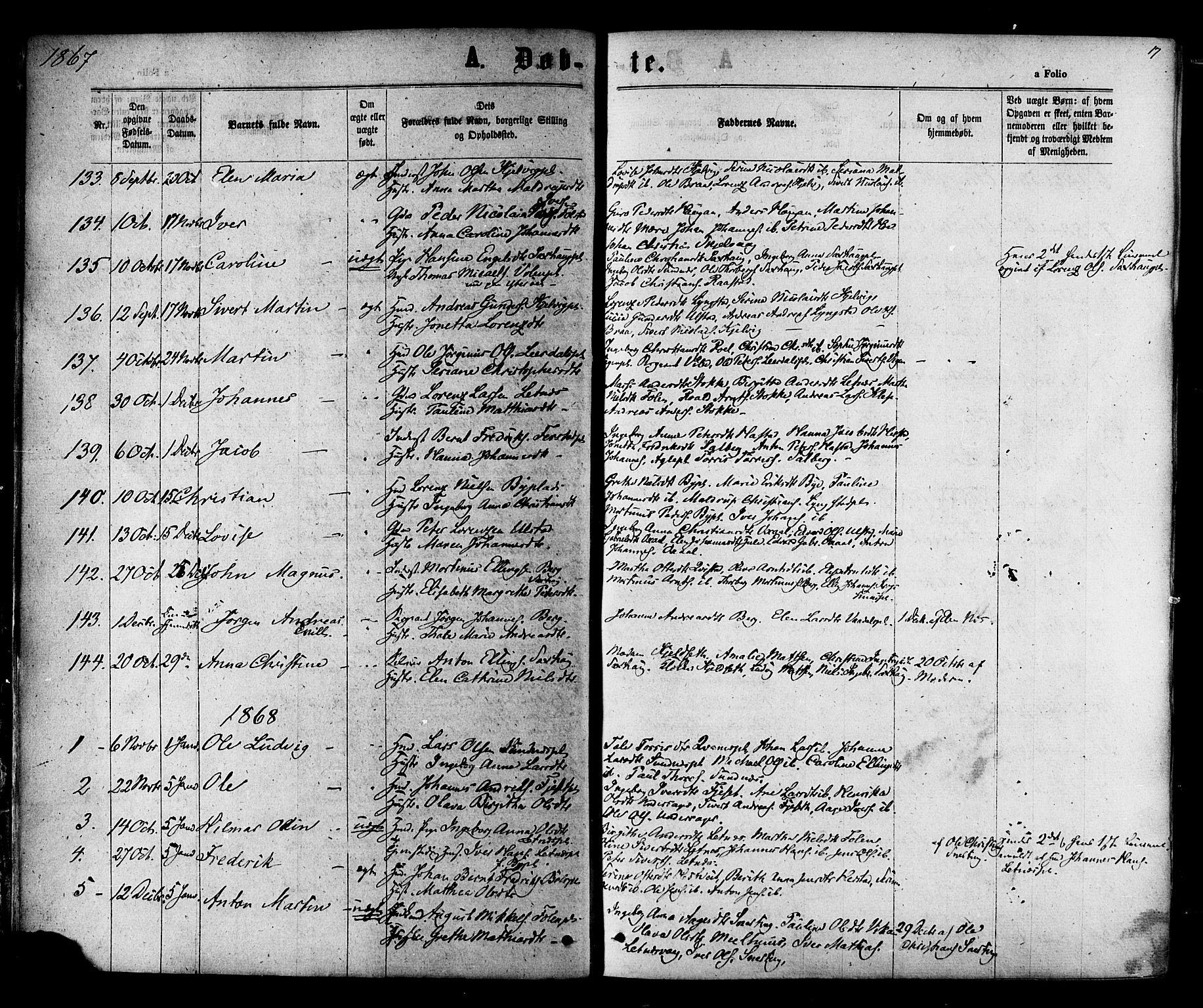 SAT, Ministerialprotokoller, klokkerbøker og fødselsregistre - Nord-Trøndelag, 730/L0284: Ministerialbok nr. 730A09, 1866-1878, s. 17