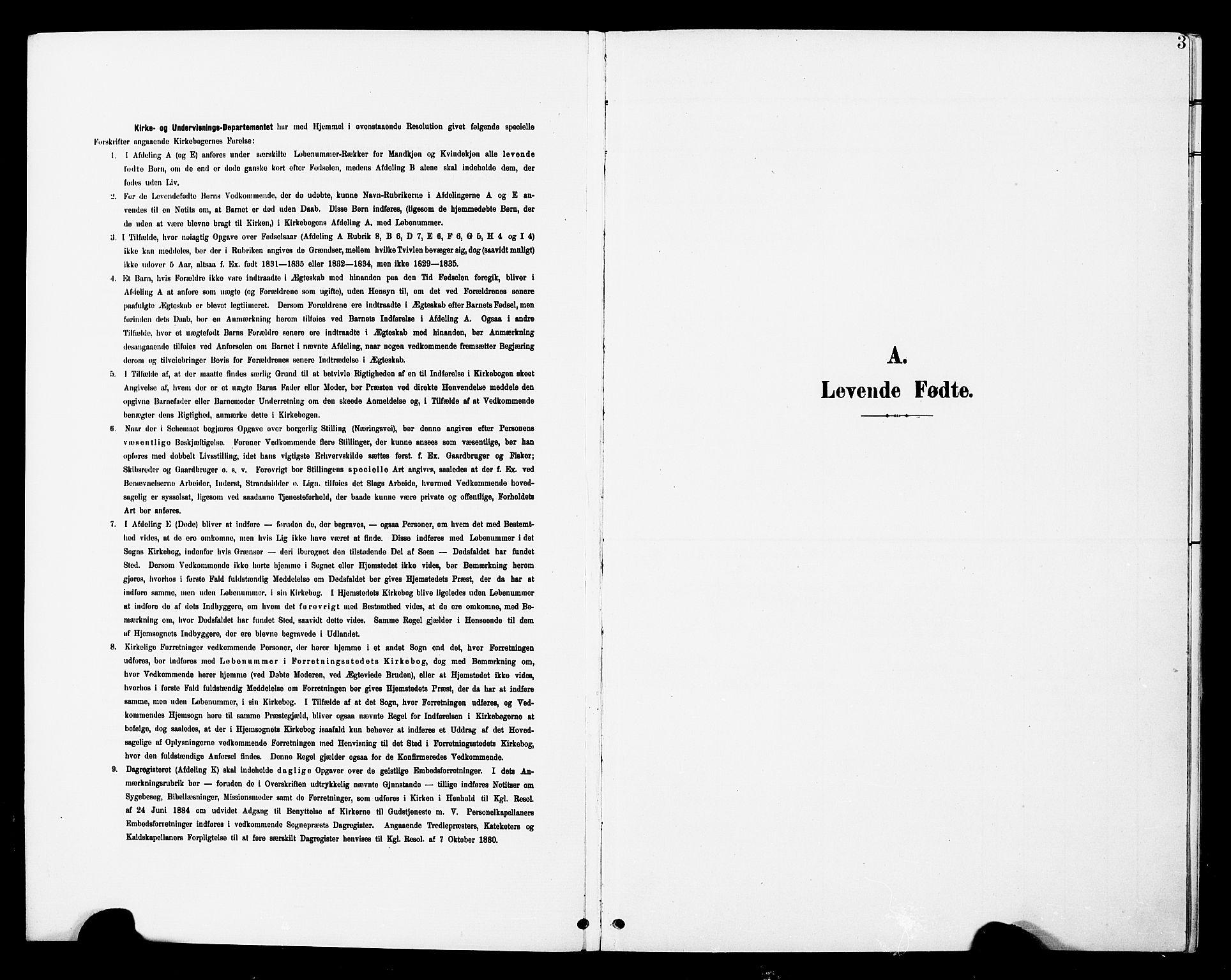 SAT, Ministerialprotokoller, klokkerbøker og fødselsregistre - Nord-Trøndelag, 748/L0464: Ministerialbok nr. 748A01, 1900-1908, s. 3